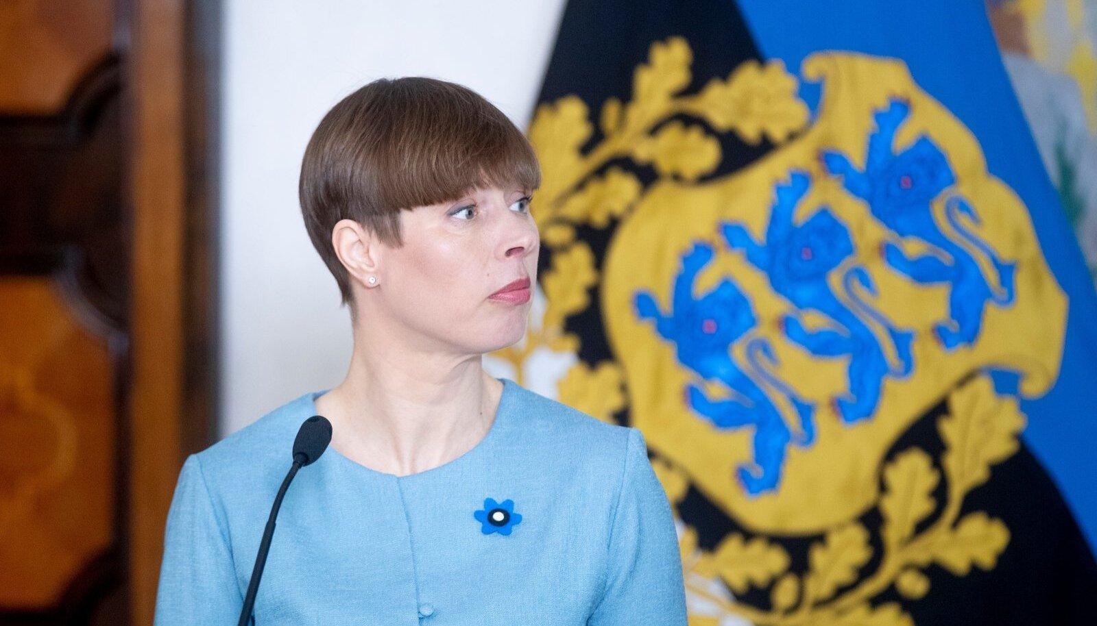 President Kersti Kaljulaid.