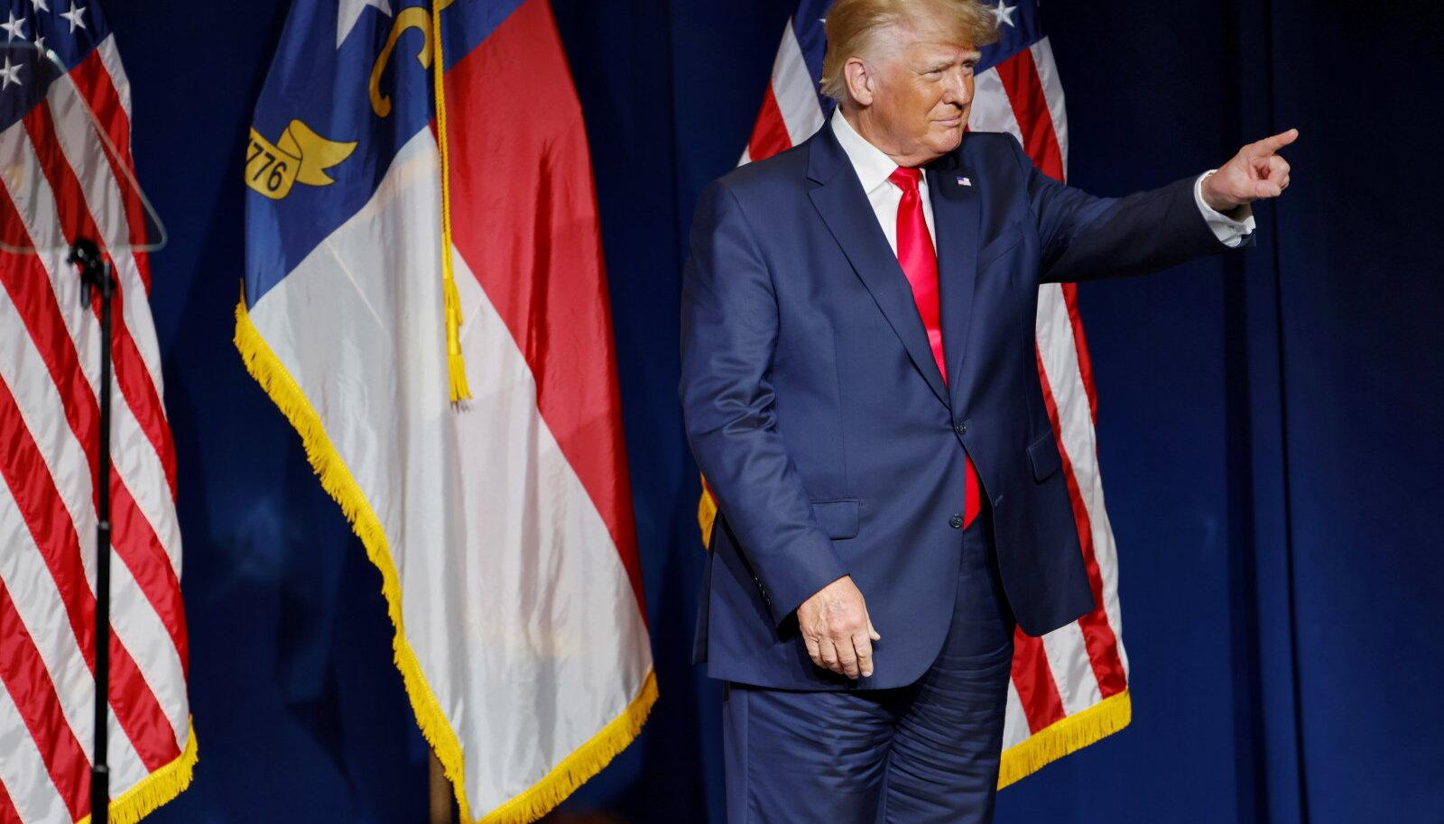 USA endine president Donald Trump peab Bitcoini USA dollari vastaseks pettuseks