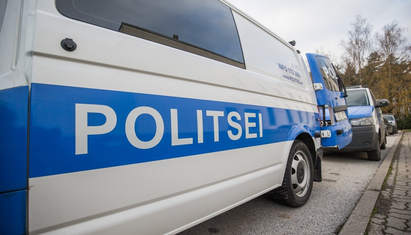 Politseibuss (foto on illustratiivne).