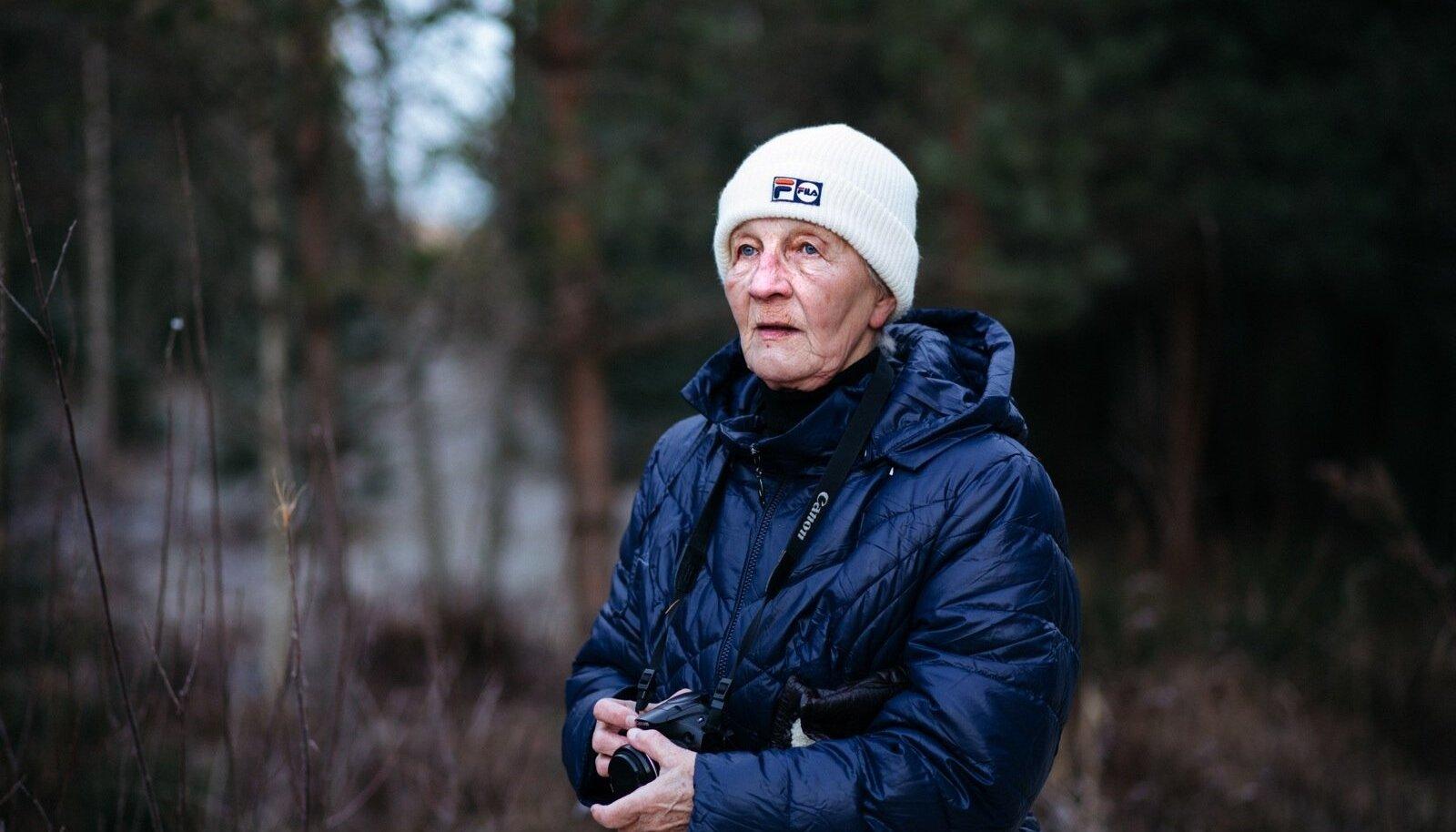 Leili Mihkelson käib metsas iga päev. Pildistab, vaatleb, vaatab, kuulab, mõtiskleb. See on kvaliteetaeg, mida peab tunnetama.