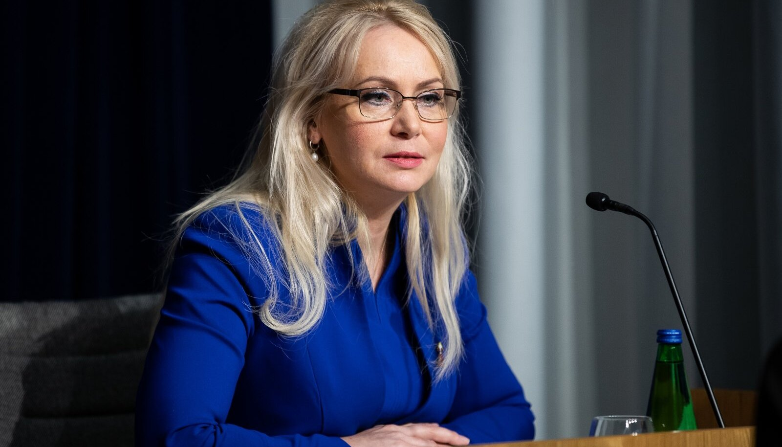 Tallinn, 08.04.2020. Eriolukorra kriisibriif ministeeriumite ühishoones.