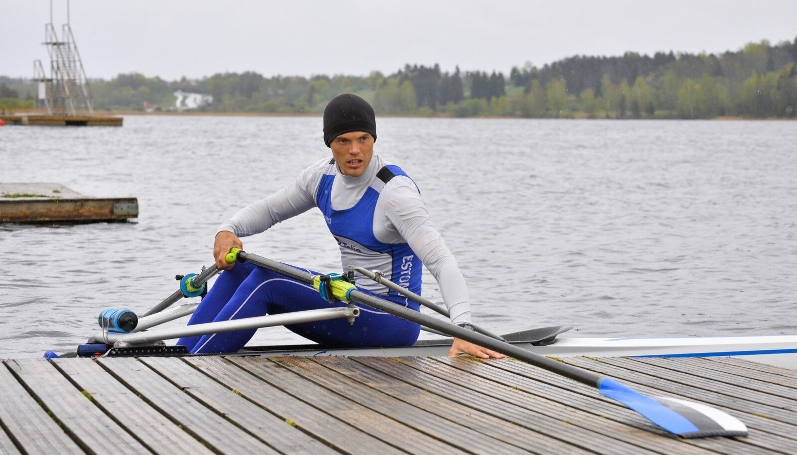 Rio olümpiamängudel neljapaadi varumeheks olnud Sten-Erik Anderson saab EM-il end näidata nejapaadis.