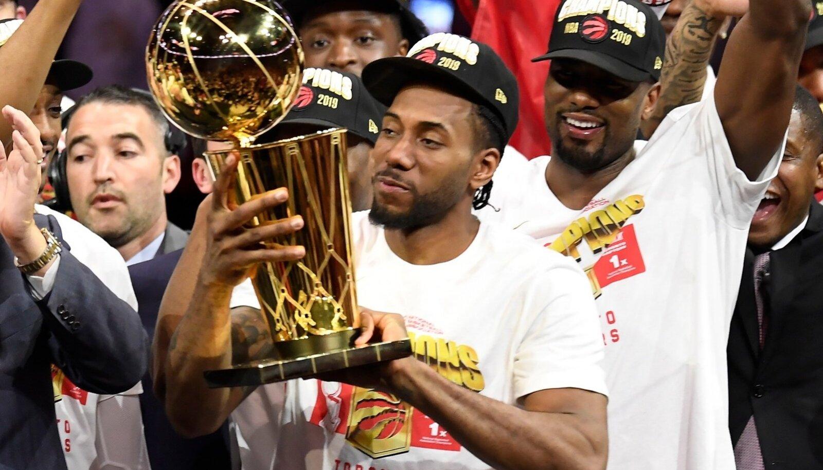 Toronto Raptors on NBA meister.