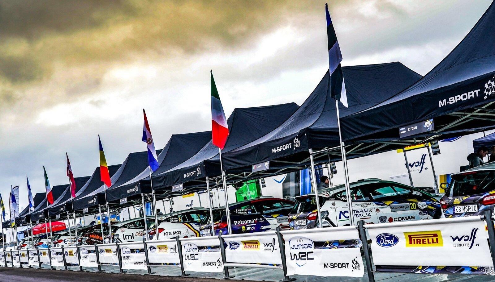 Ken Torn on kolmandat aastat sättinud oma auto Juunior WRC sarjas osalejate rivisse.