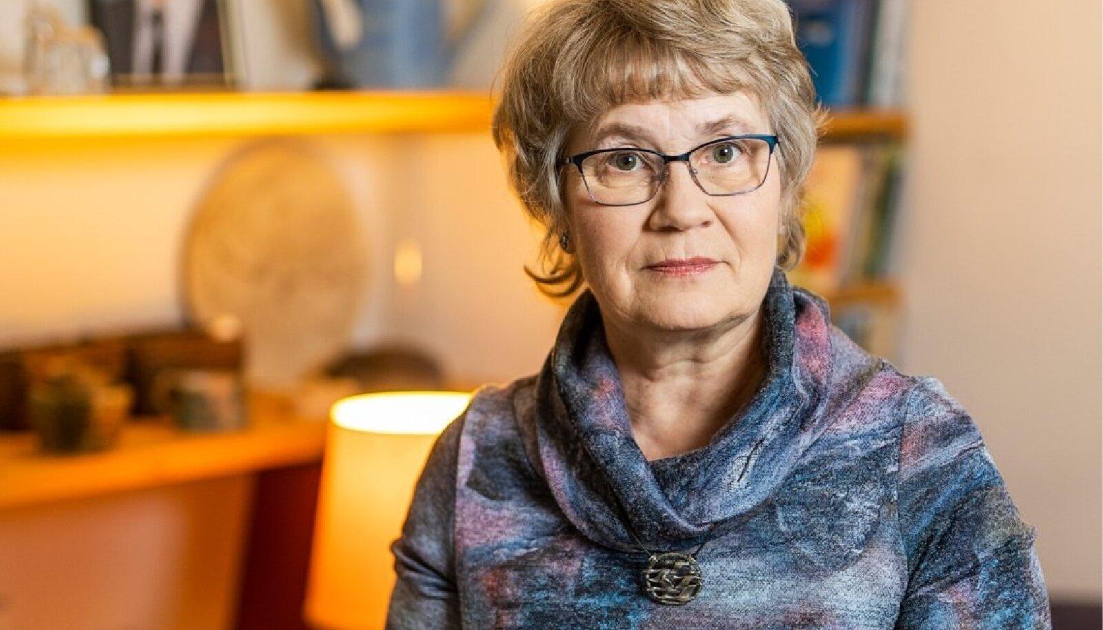 Eesti Afaasialiidu juht Külli Roht.