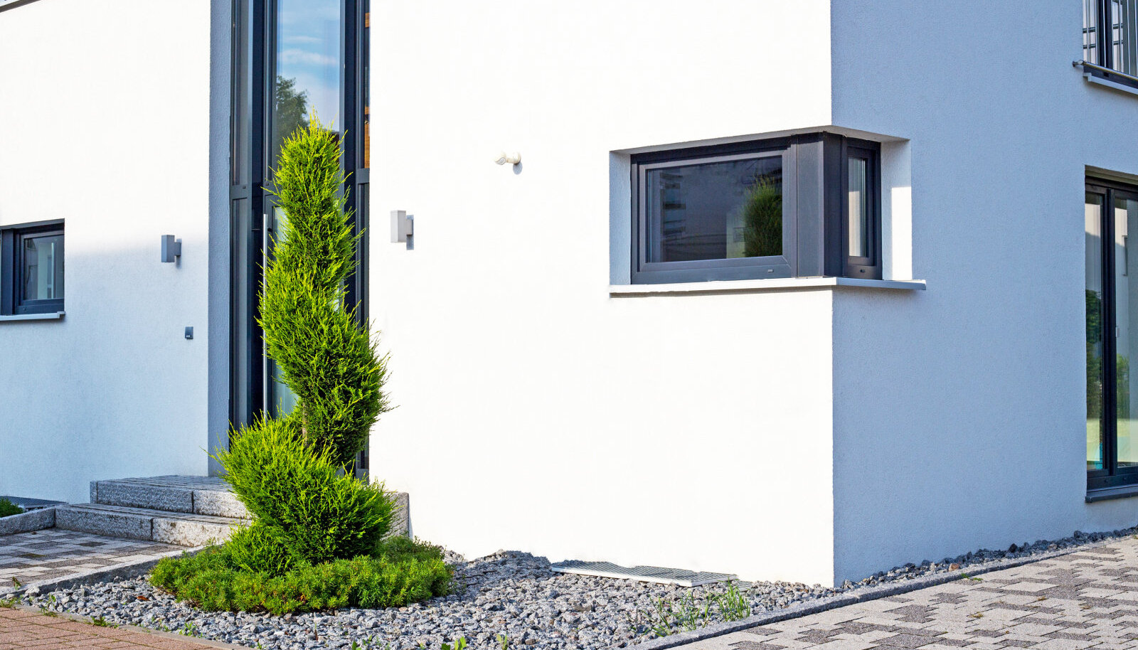 Hästi hooldatud krohvitud fassaad peaks vastu pidama kuni 25 aastat.