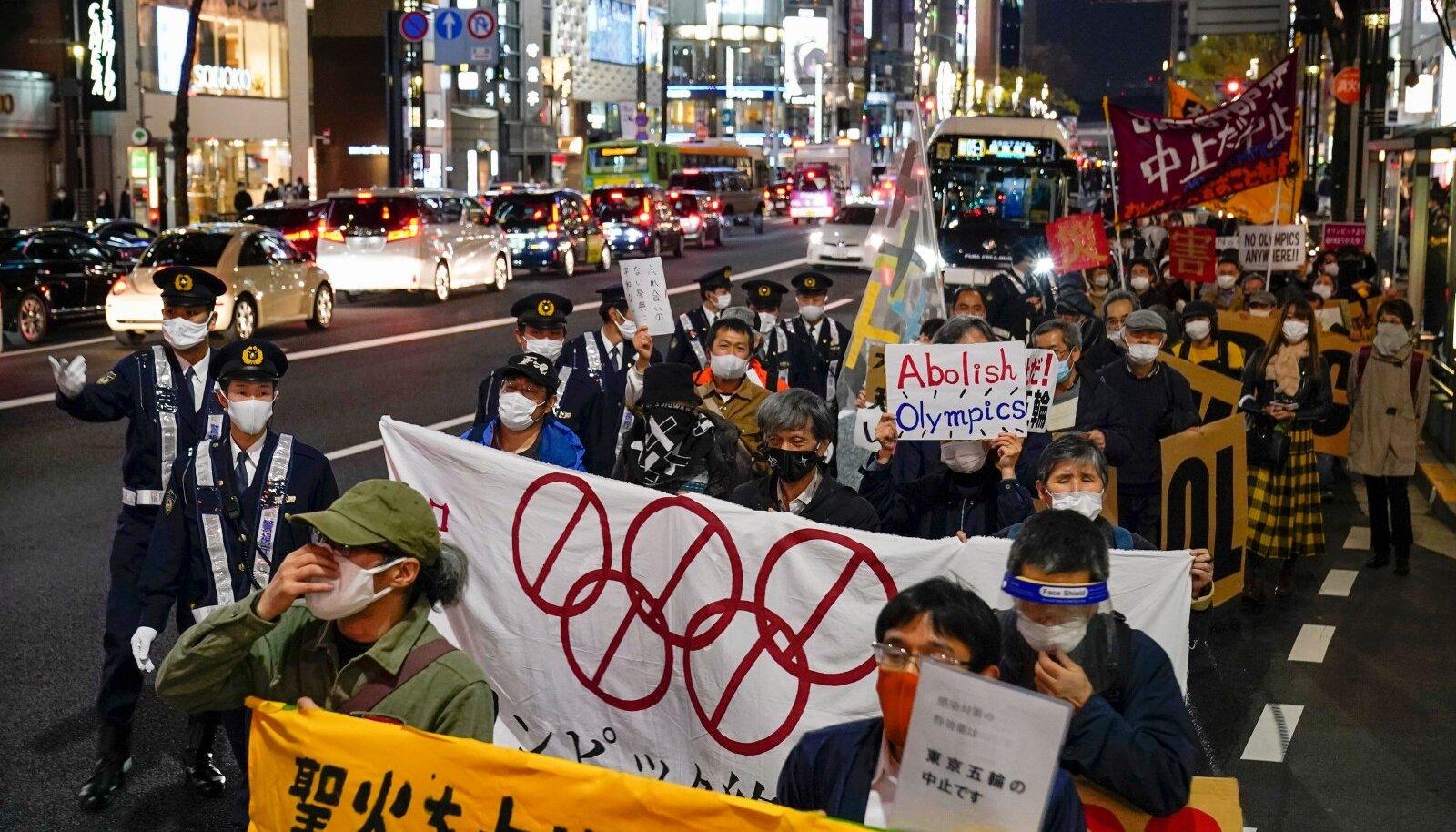 Ei olümpiale, nõuab 60% jaapanlasi.