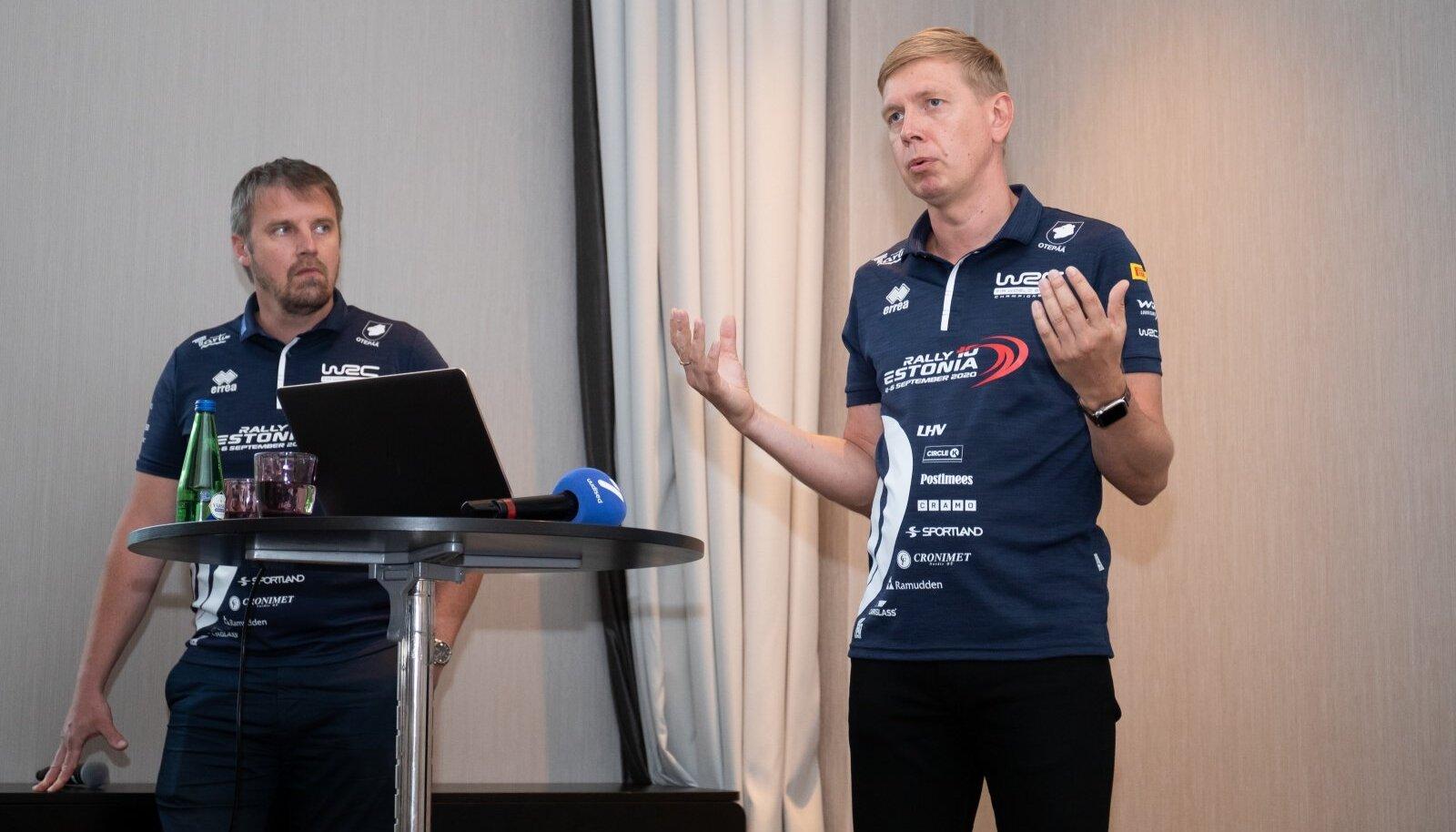 WRC Rally Estonia pressikonverents 30.07.2020