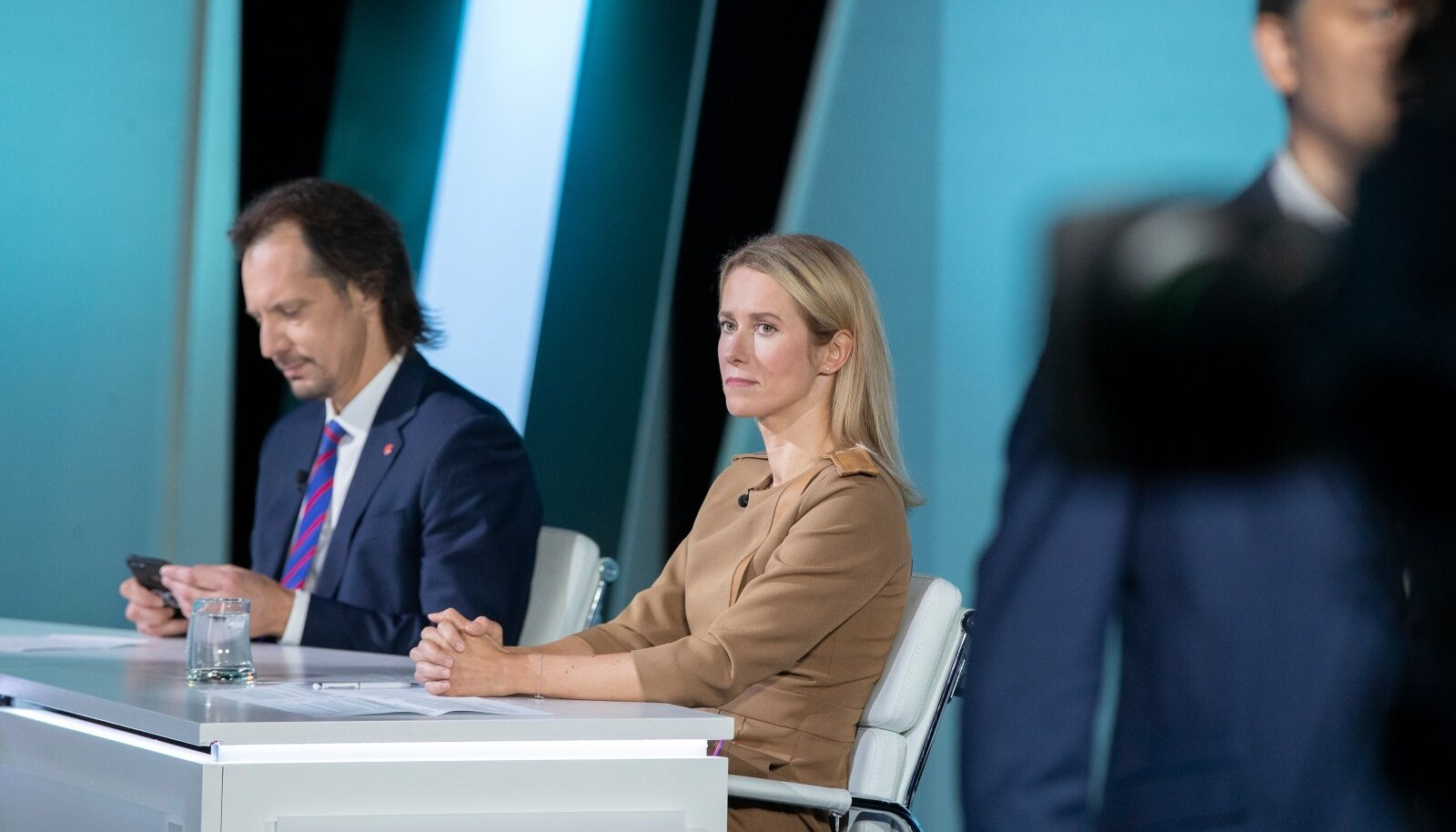 Indrek Saar ja Kaja Kallas