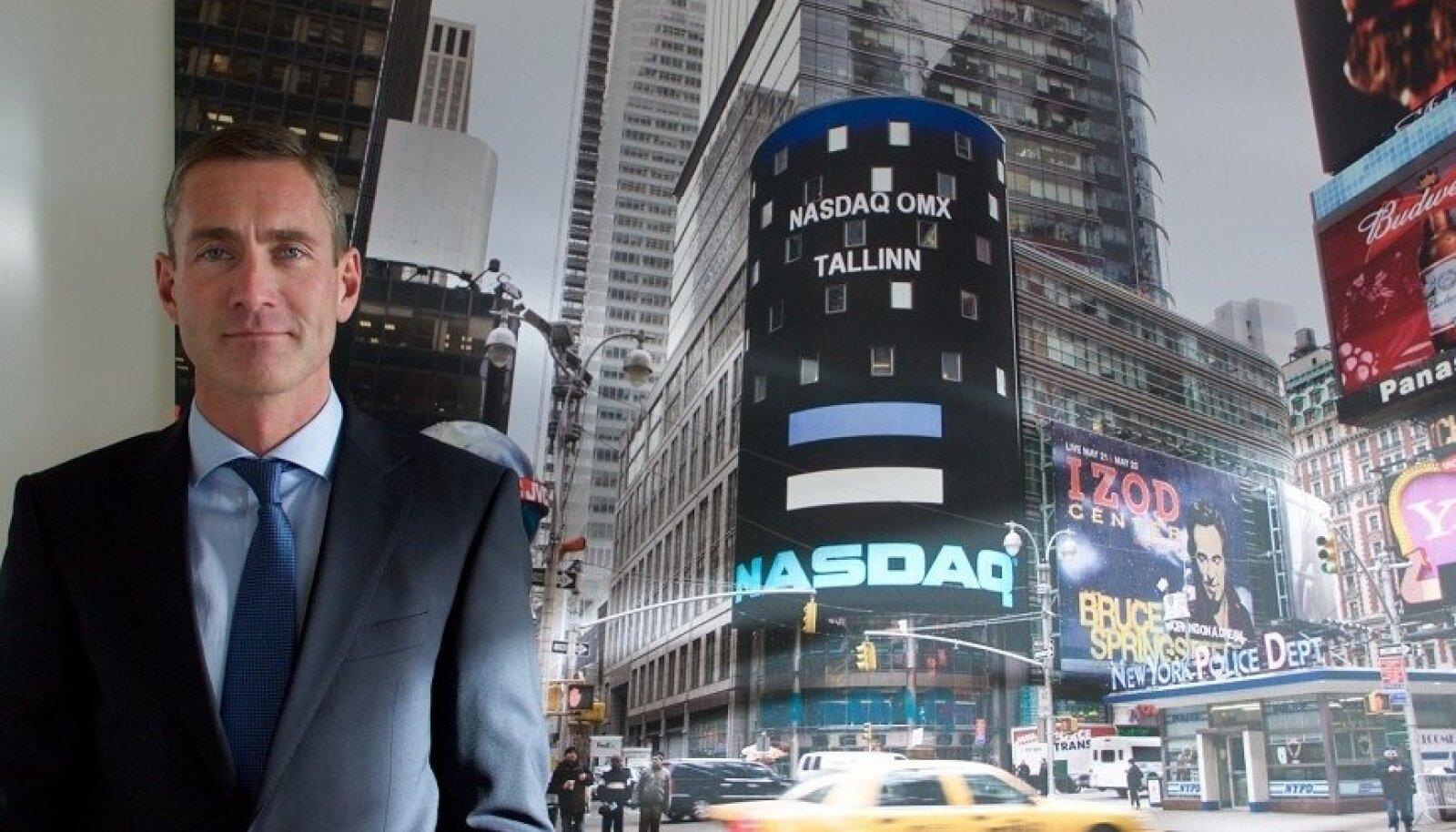 Nasdaq Tallinna börsi juhatuse esimees Kaarel Ots.