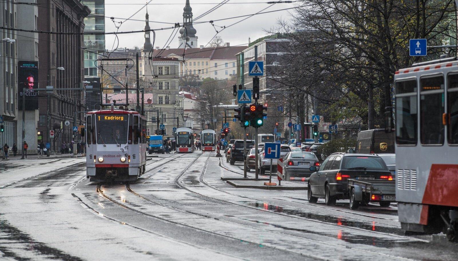 Tallinna peatänava projekt on külmutatud seni, kuni valmivad ümbersõiduteed