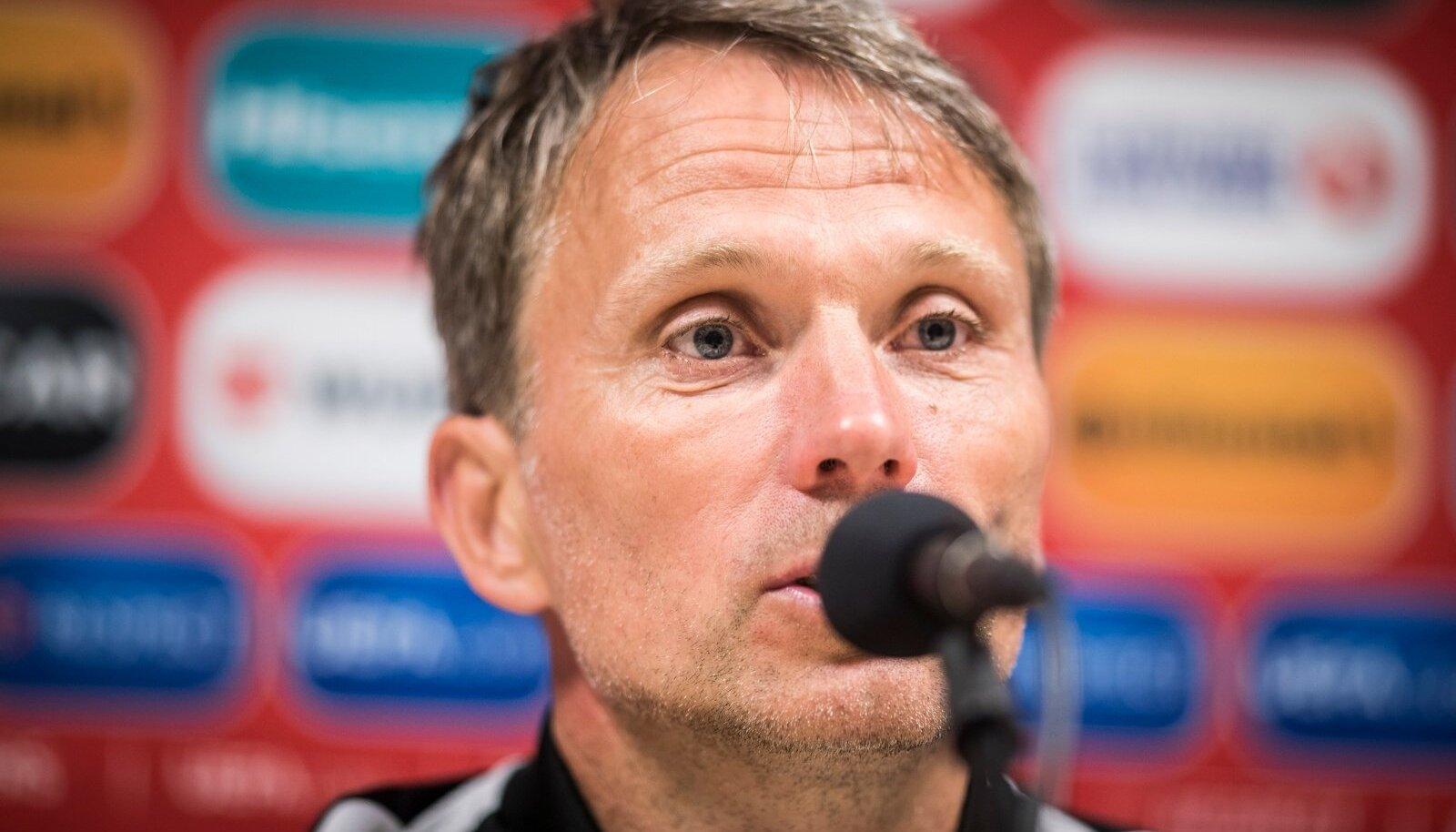 Eesti koondis kaotas Belgiale A. le Coq Arenal 09.06.2017 skooriga 2:0.