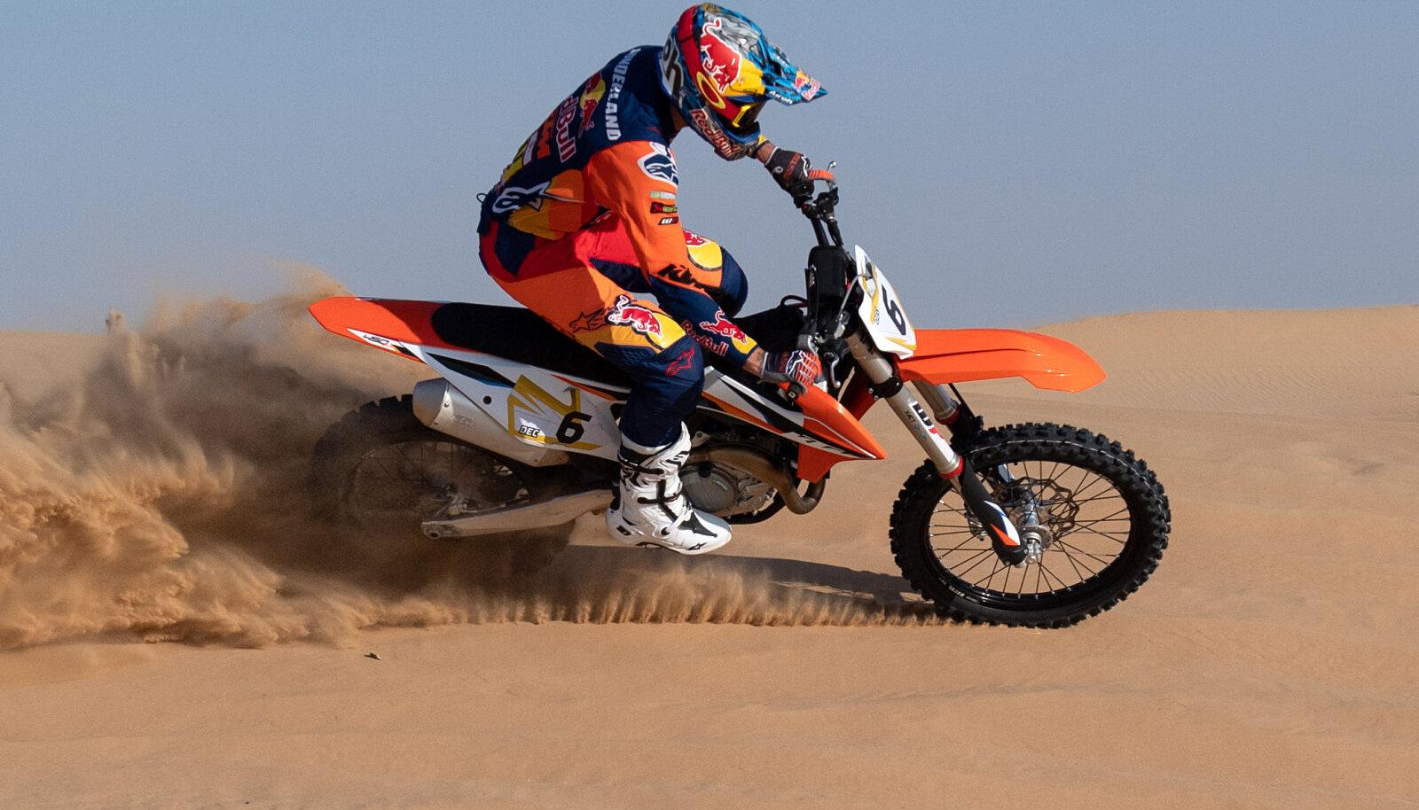 Sam Sunderland 2020. aasta Dakari rallil
