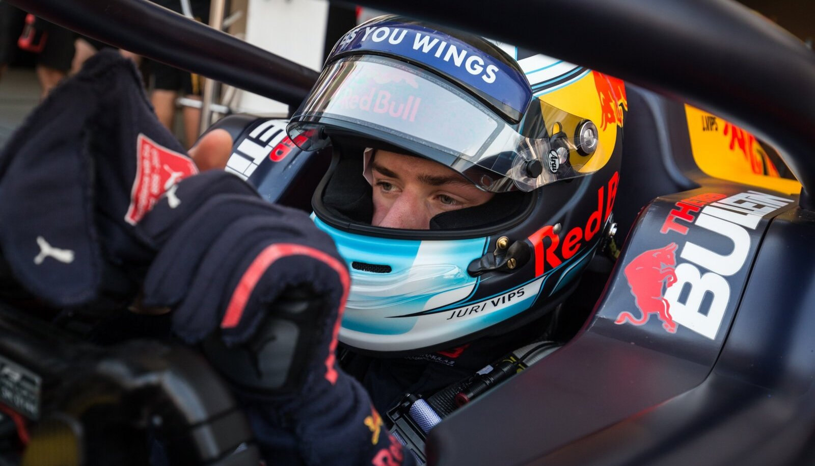 Jüri Vips liigub sihikindlalt F1 sarja poole.