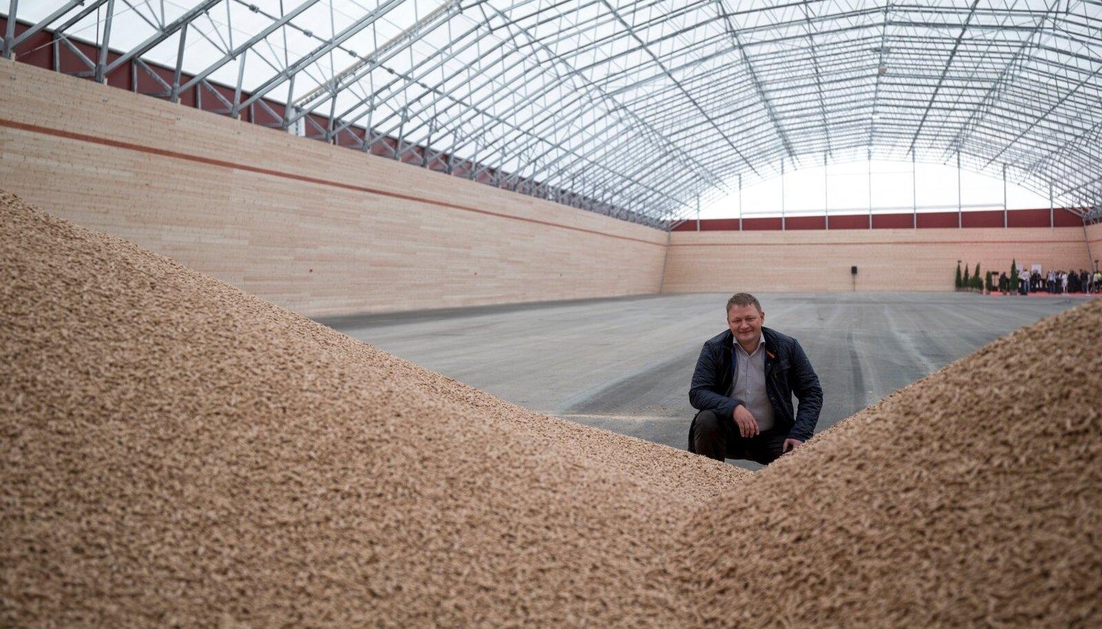 Eesti suurima pelletitootja Graanul Investi omanik Raul Kirjanen
