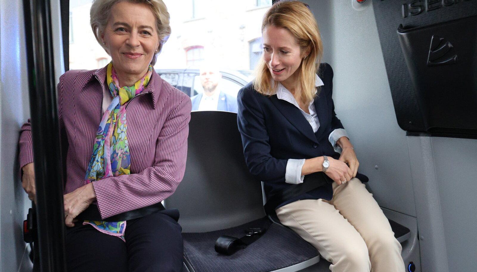 Ursula von der Leyen ja Kaja Kallas