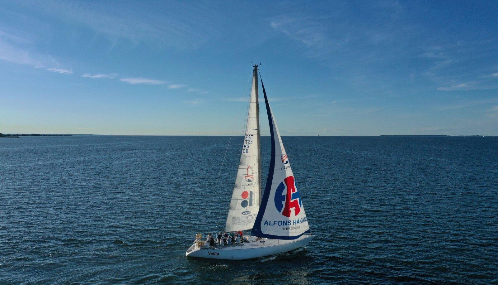 STA Estonia purjeõppejaht Vesta