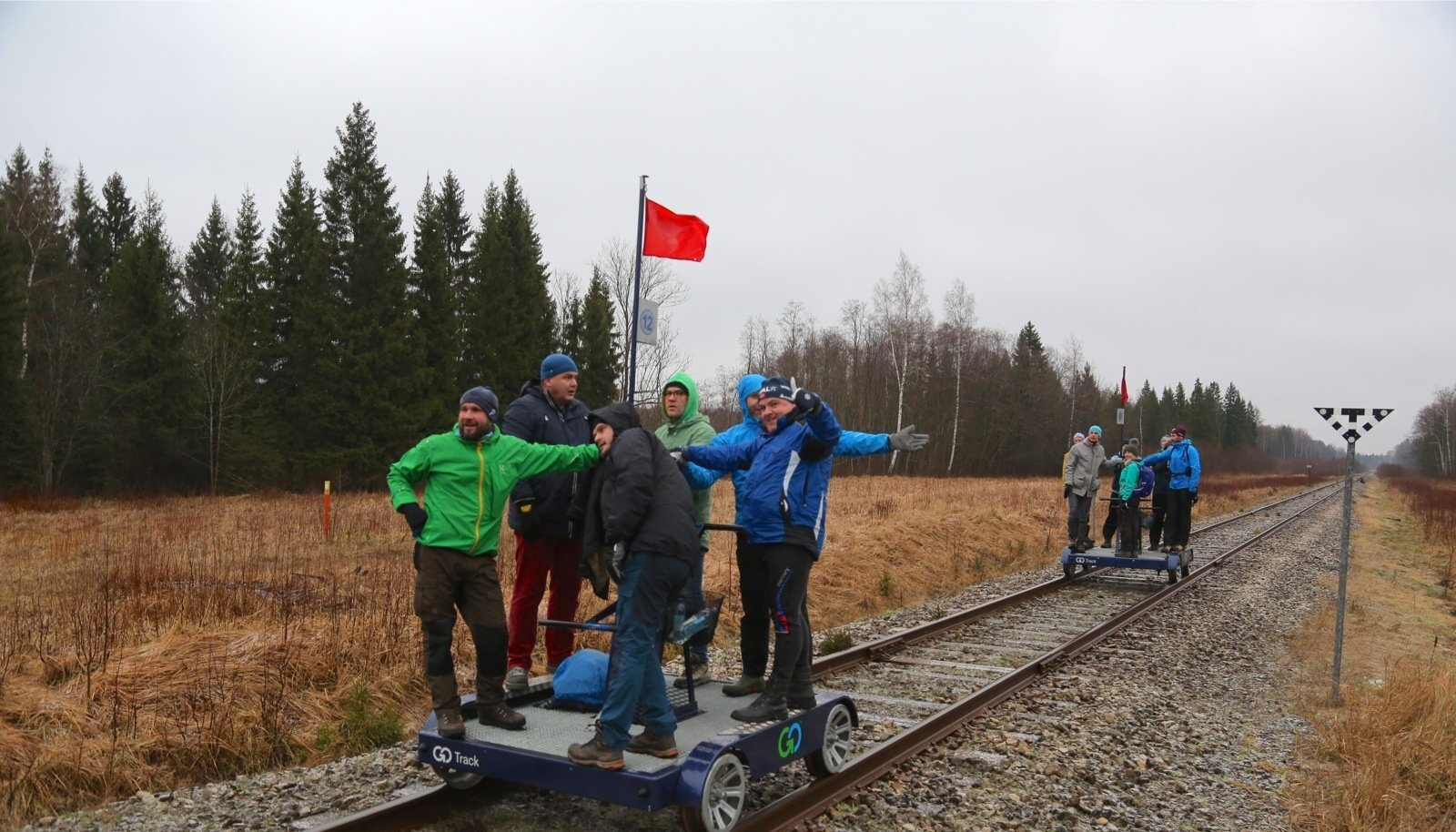 Dresiinimatk Lelle-Pärnu raudteelõigul lõppenud reisirongiliikluse mälestamiseks