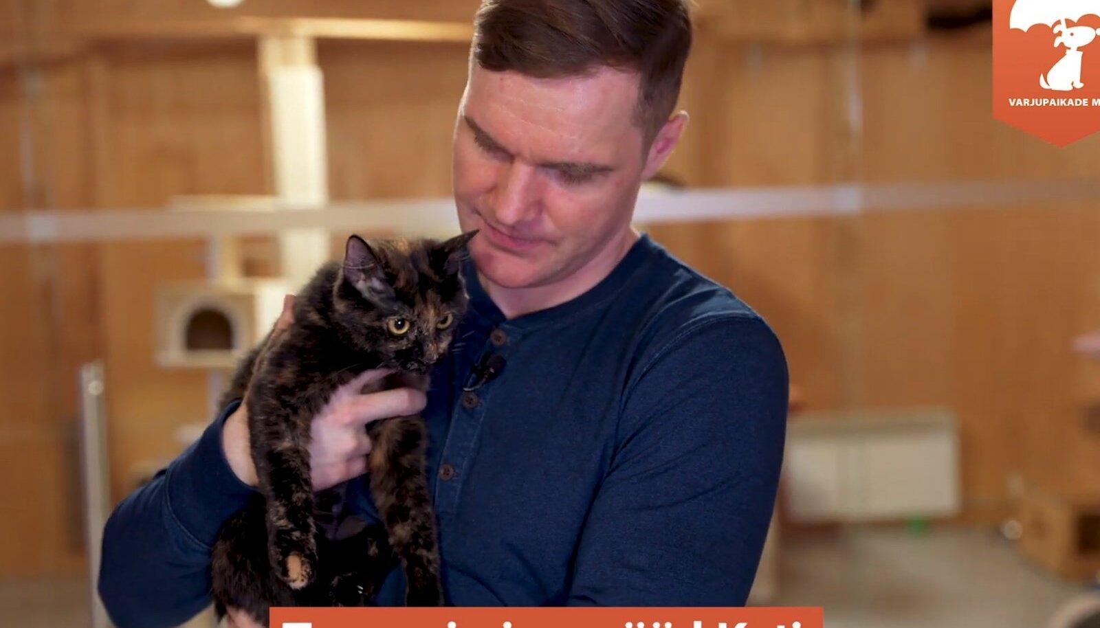 Ott Lepland kass Katiga