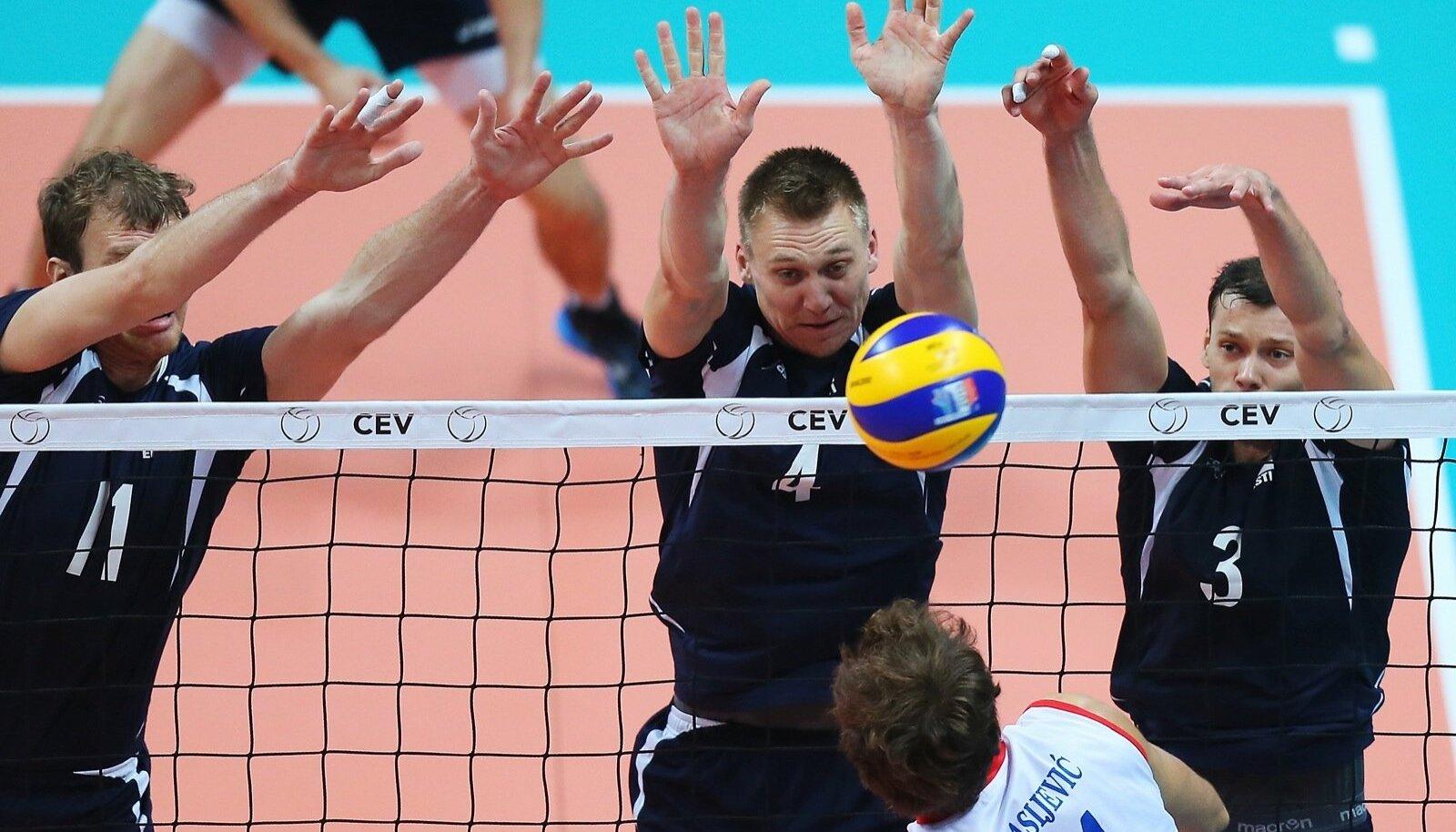 Eesti v Serbia võrkpallikoondise play-off