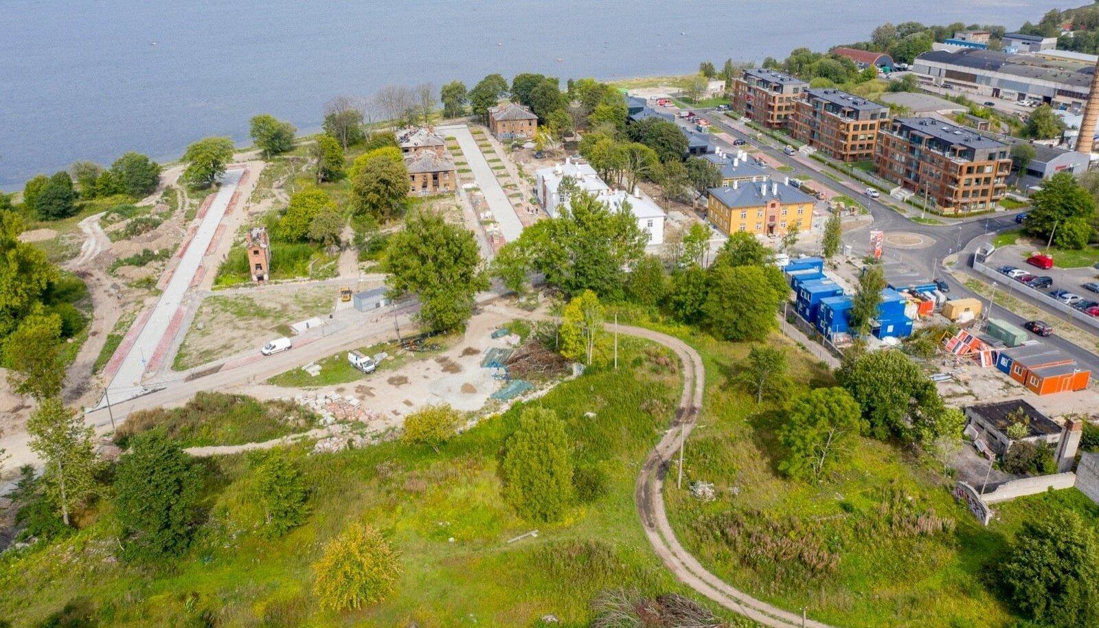 Fund Ehitus saab Kopli liinidele rajada algsest kavast 335 korterit rohkem.