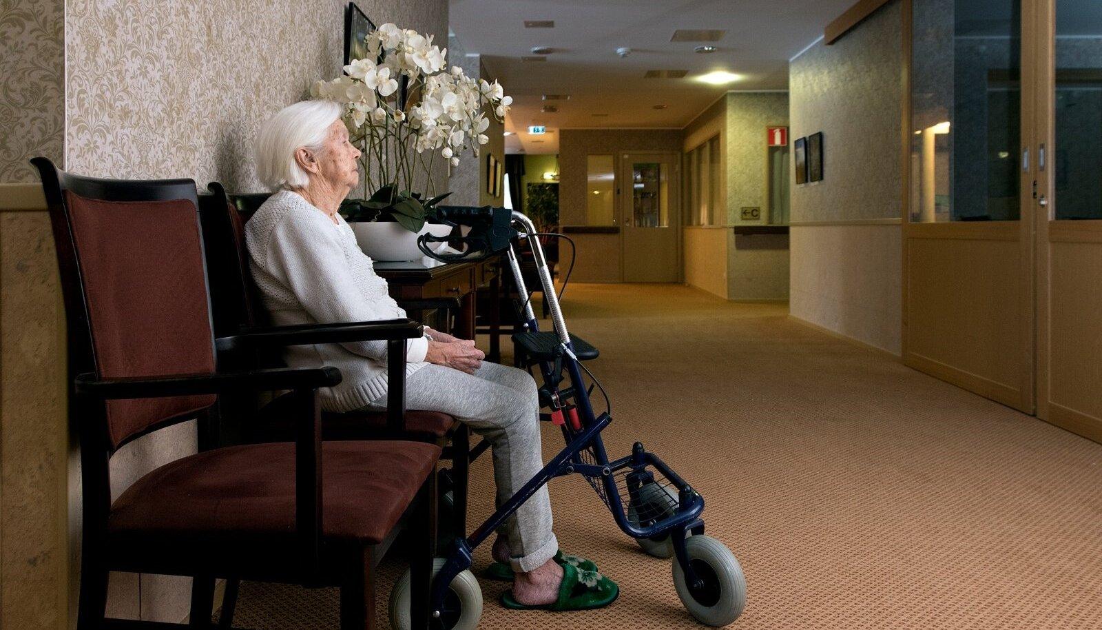 Eakate kodu Benita, Benita Kodu AS, vanim 99 aastane Benita klient