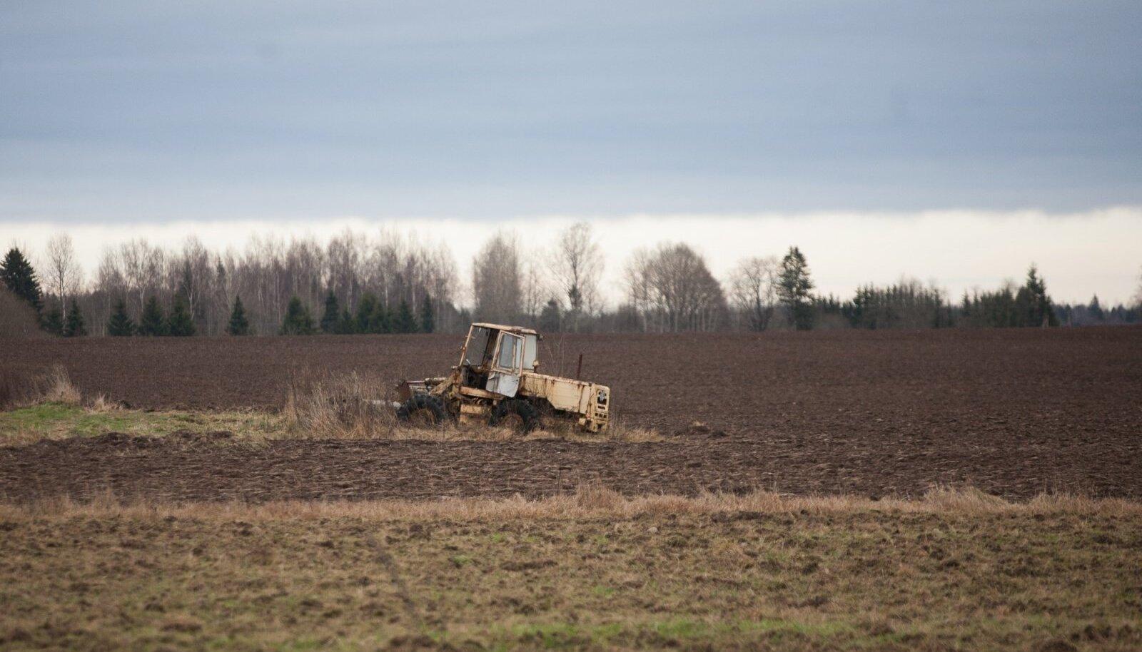 Pikk majanduskriis on eriti ohtlik Eesti põllumajandusele.