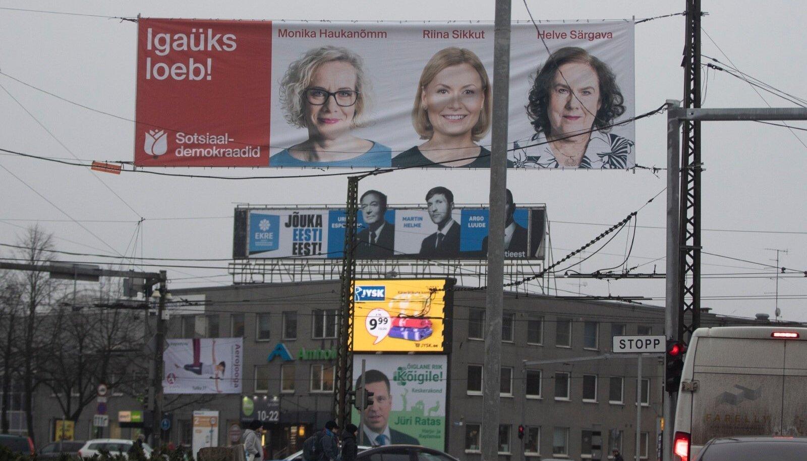 Valimiskampaania jaanuaris 2019