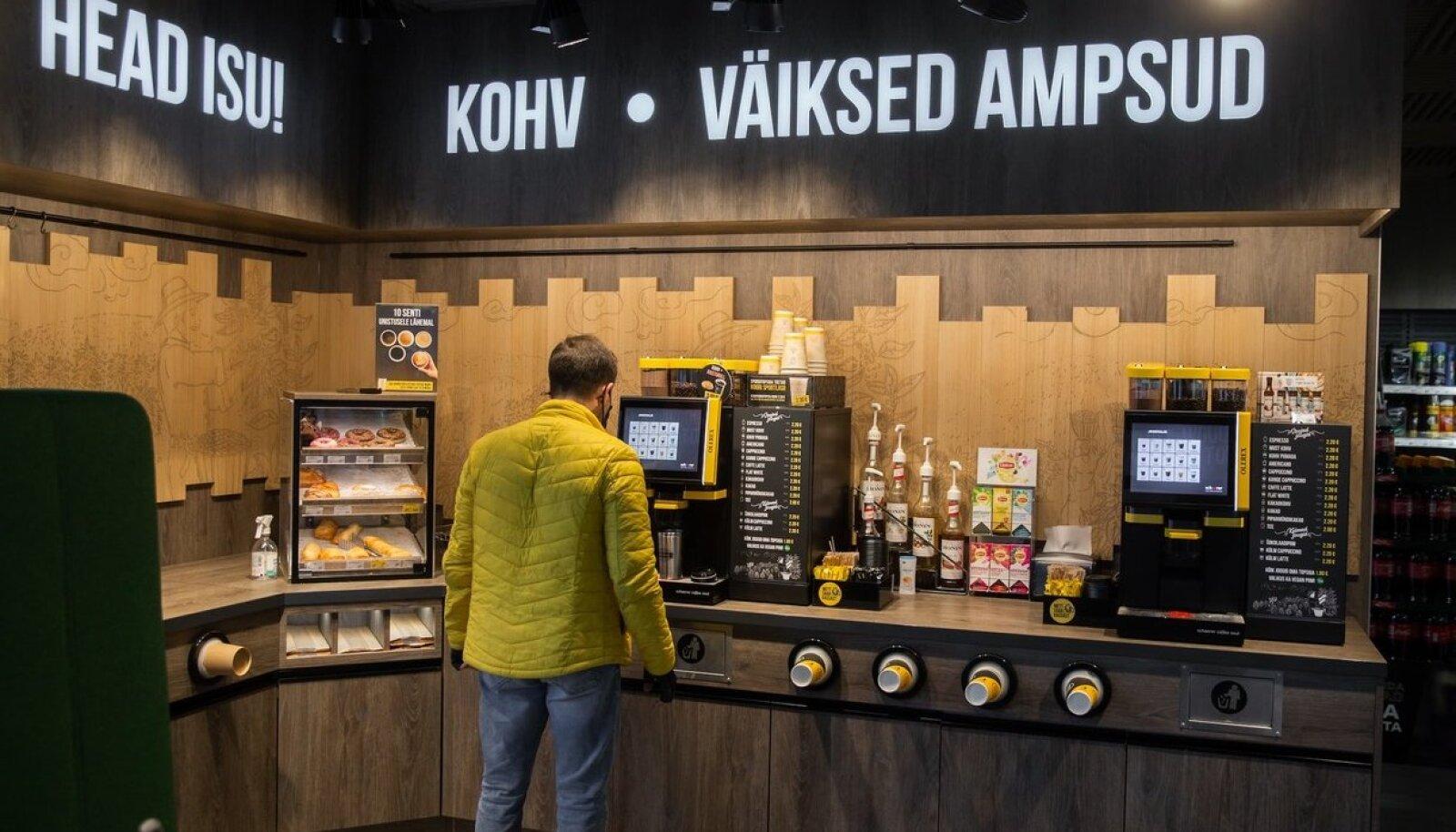 Esimesed Šveitsi päritolu Schaerer Soul 12 kohvimasinad on juba paigaldatud Olerexi Tallinna Peetri, Harku ja Ahtri täisteenindusjaamades