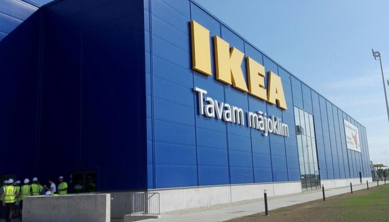 Läti IKEA valmimine