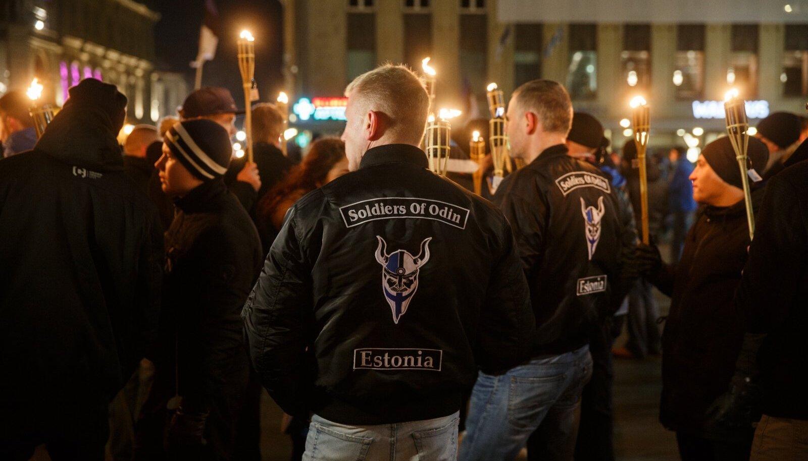 Soome ja Eesti Odini Sõdurite sarnased liikumised Saksamaal, Rootsis ja Norras muutusid nähtavamaks ja said isegi parlamenti.