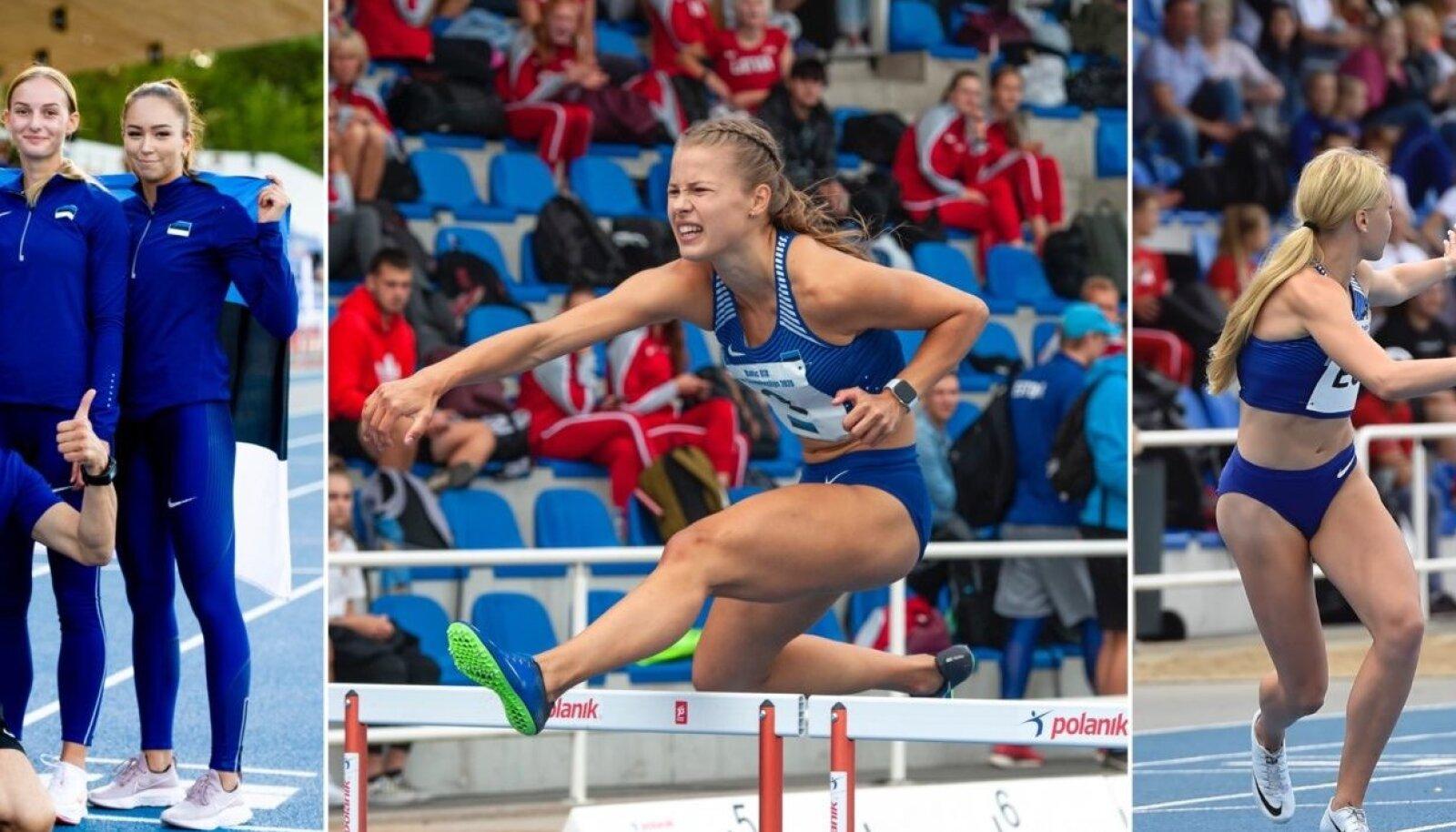 Balti kergejõustiku meistrivõistlustel sündis kolm noorteklassi rekordit