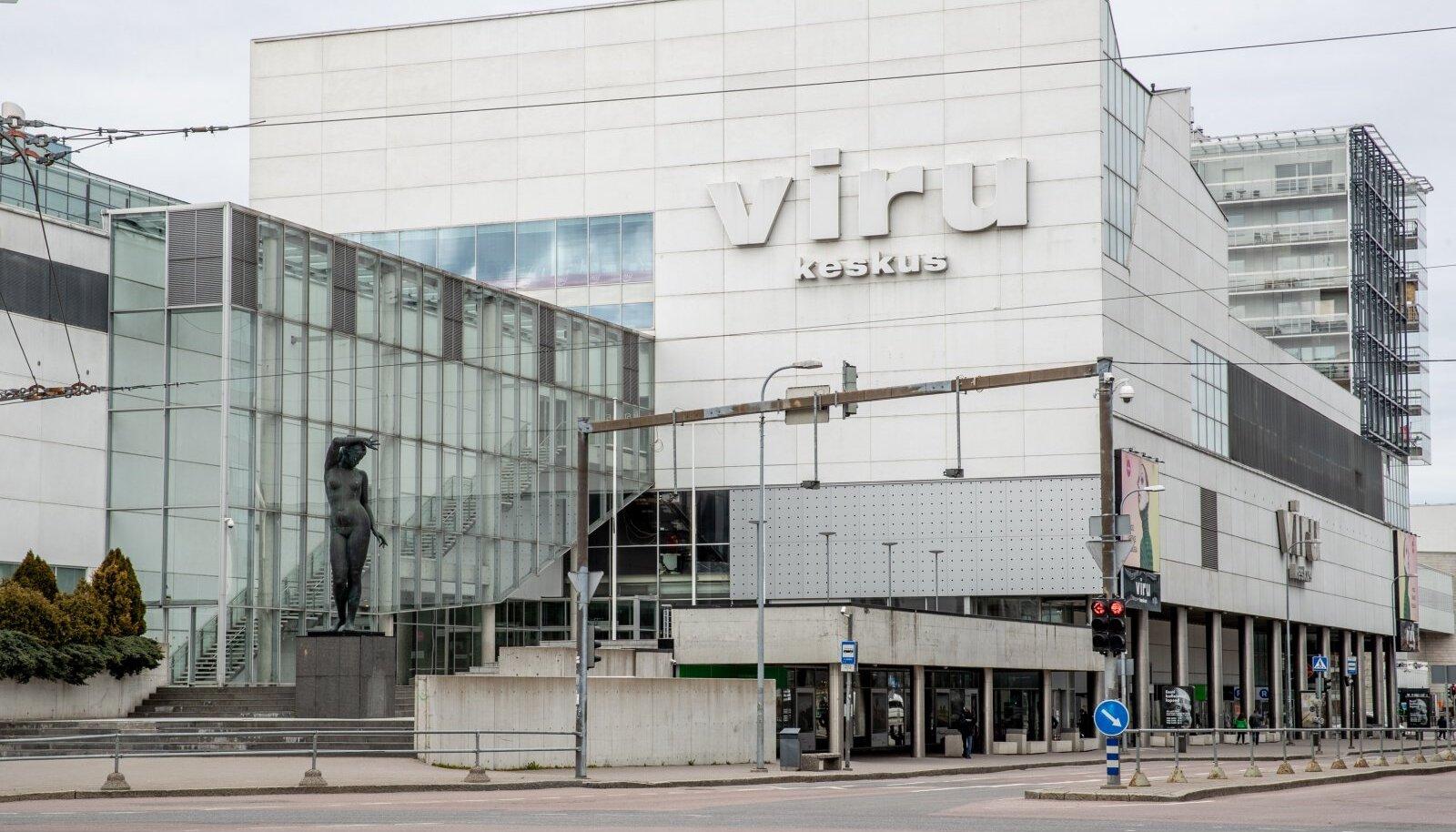 Kaubamaja ja Viru keskus