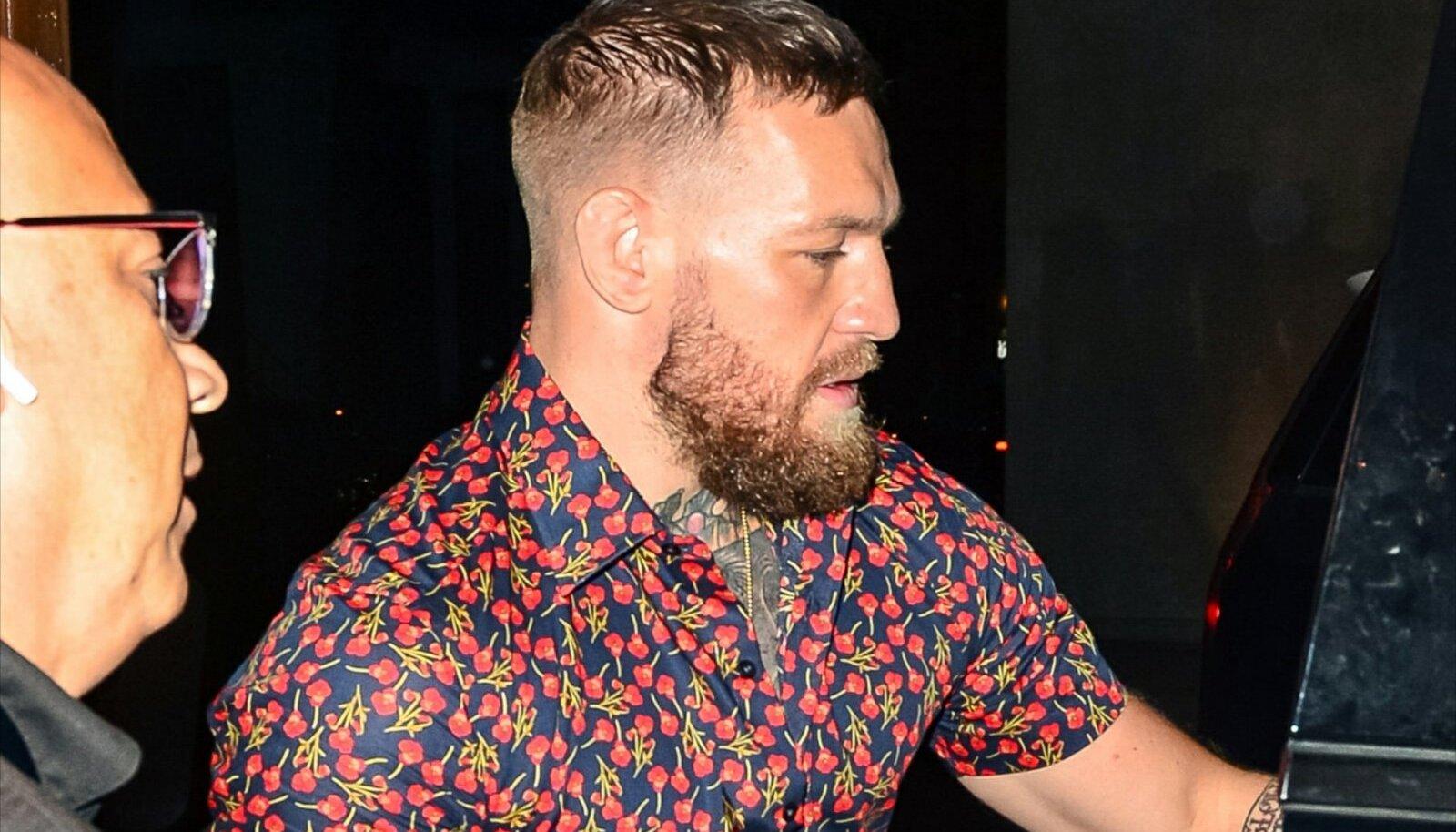 Conor McGregor Los Angeleses.