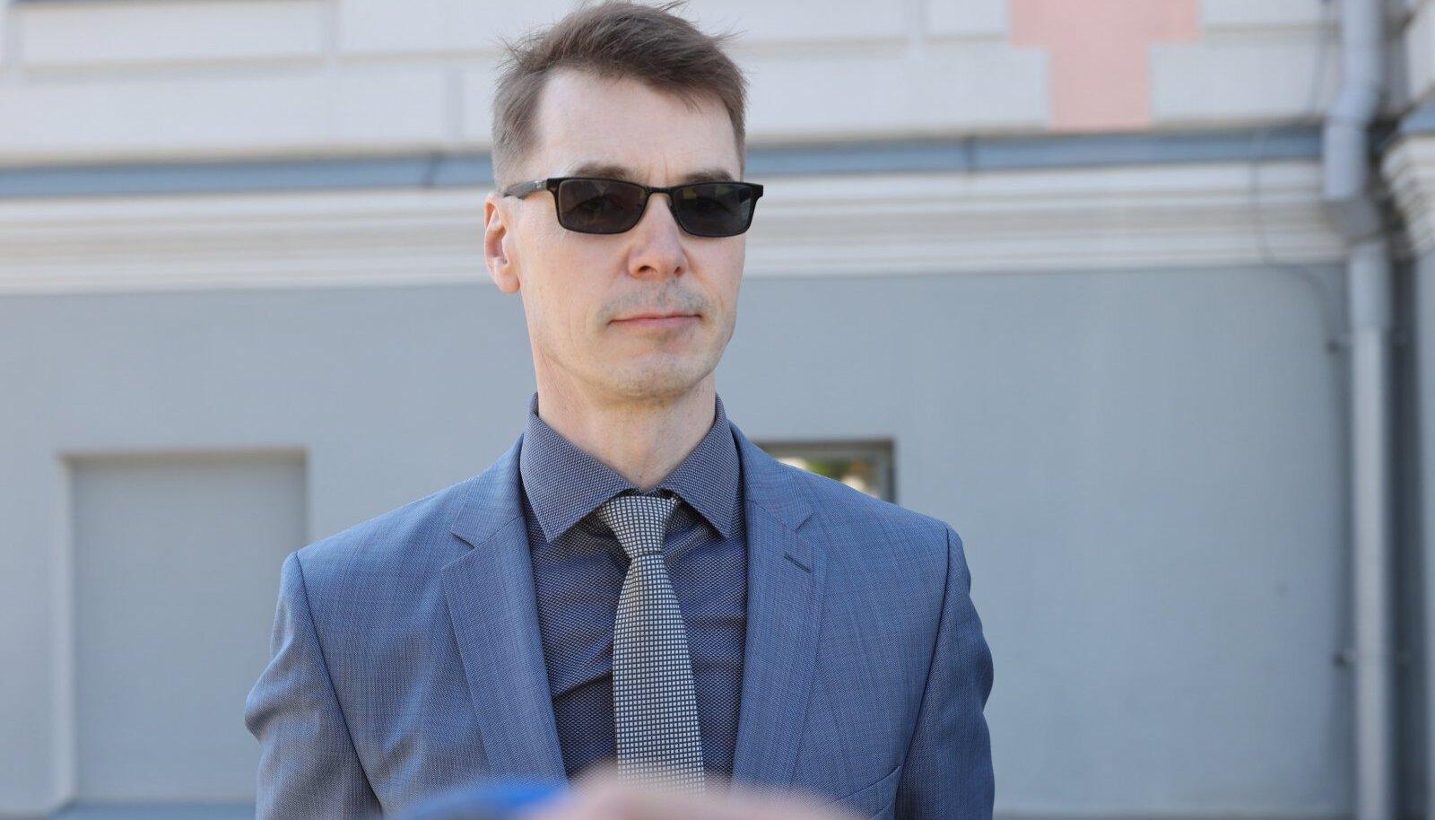 """""""Ma olengi poliitik,"""" lausus Marti Kuusik, et mis saab pärast kohtuotsust."""
