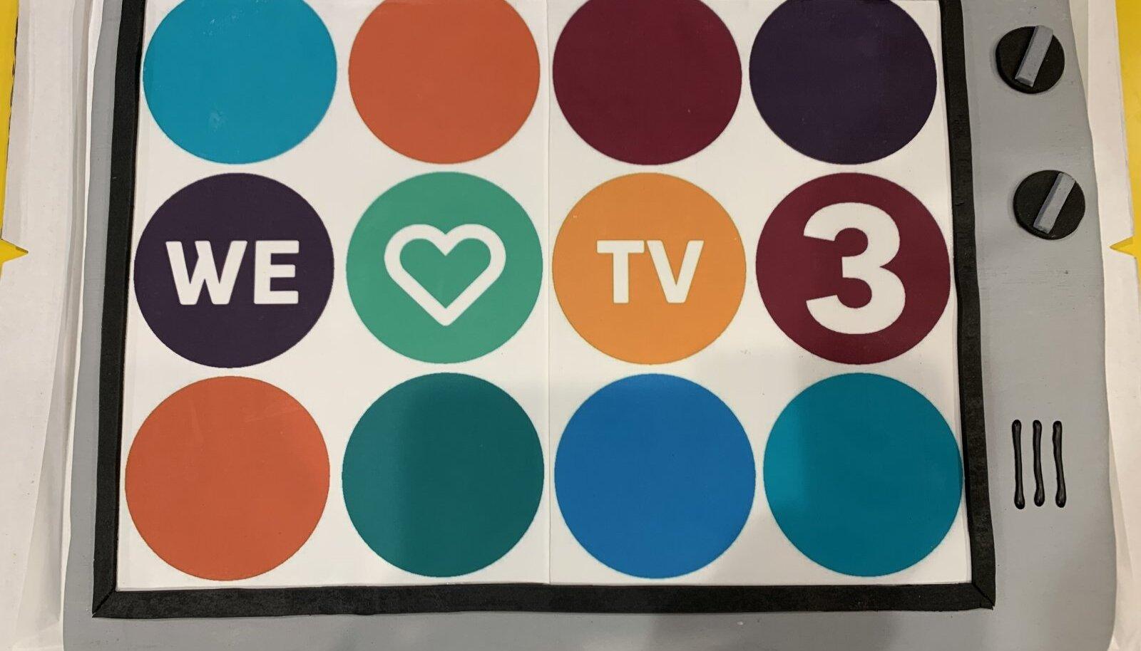 TV3 vana logo