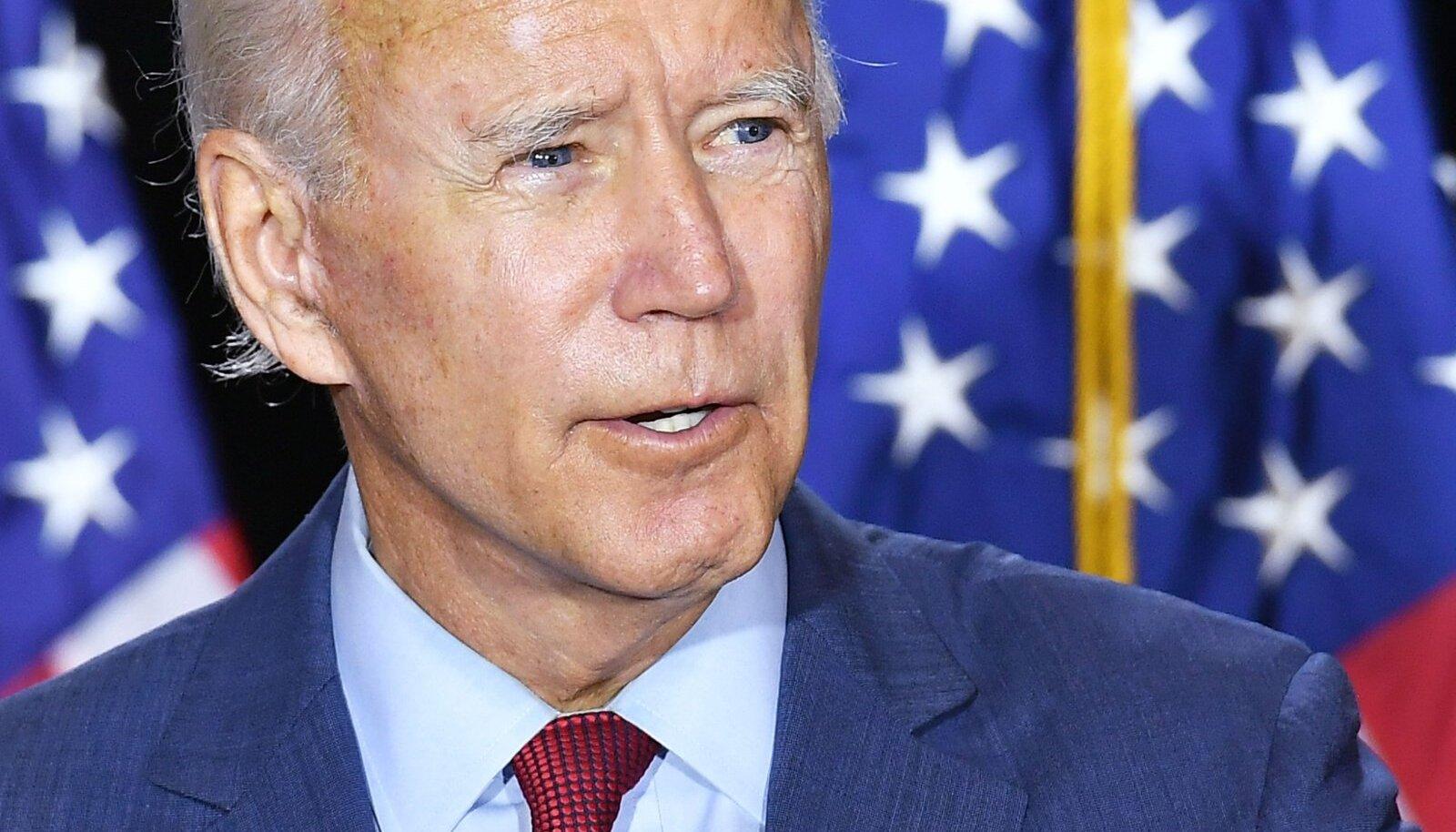 Joe Biden läinud nädalal Delaware´is toimunud kampaaniaüritusel