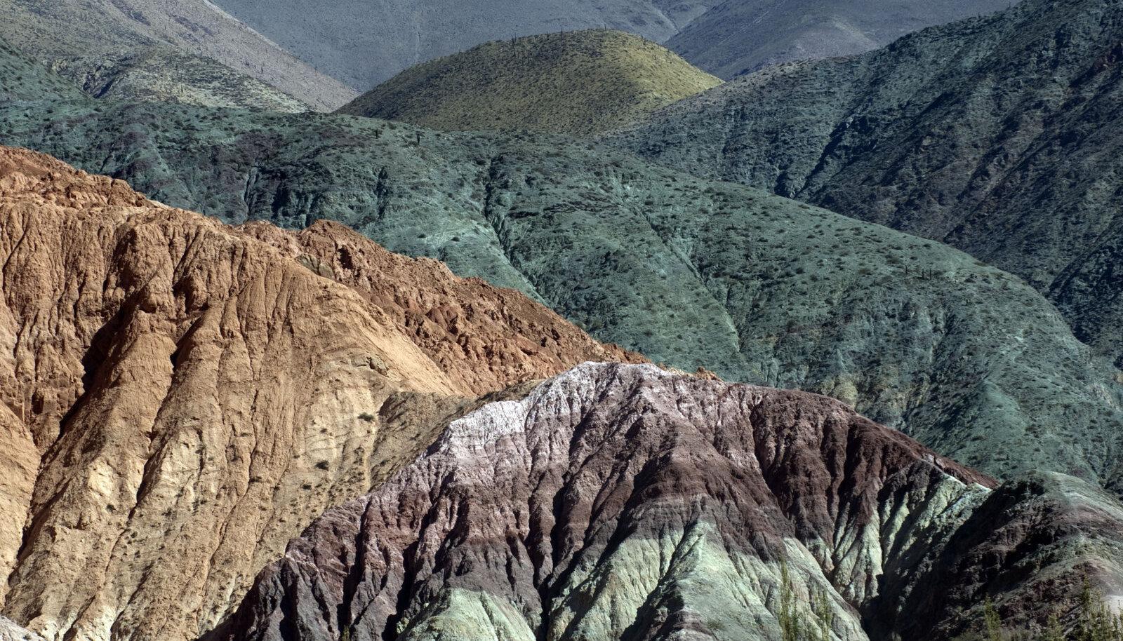 Argentina Cerro de Siete Colores (seitsme värvi mägi)