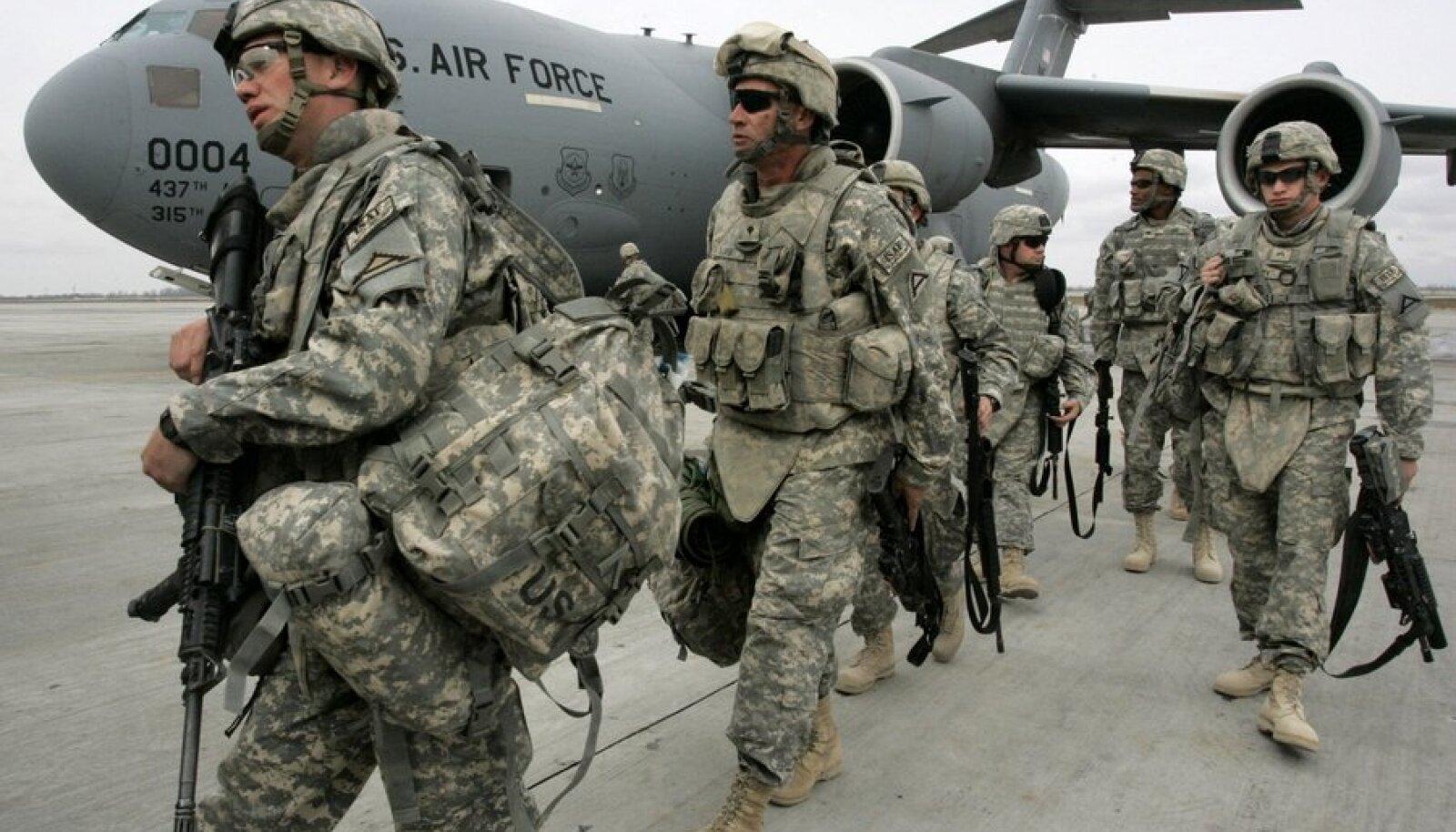 USA sõdurid Afganistanis