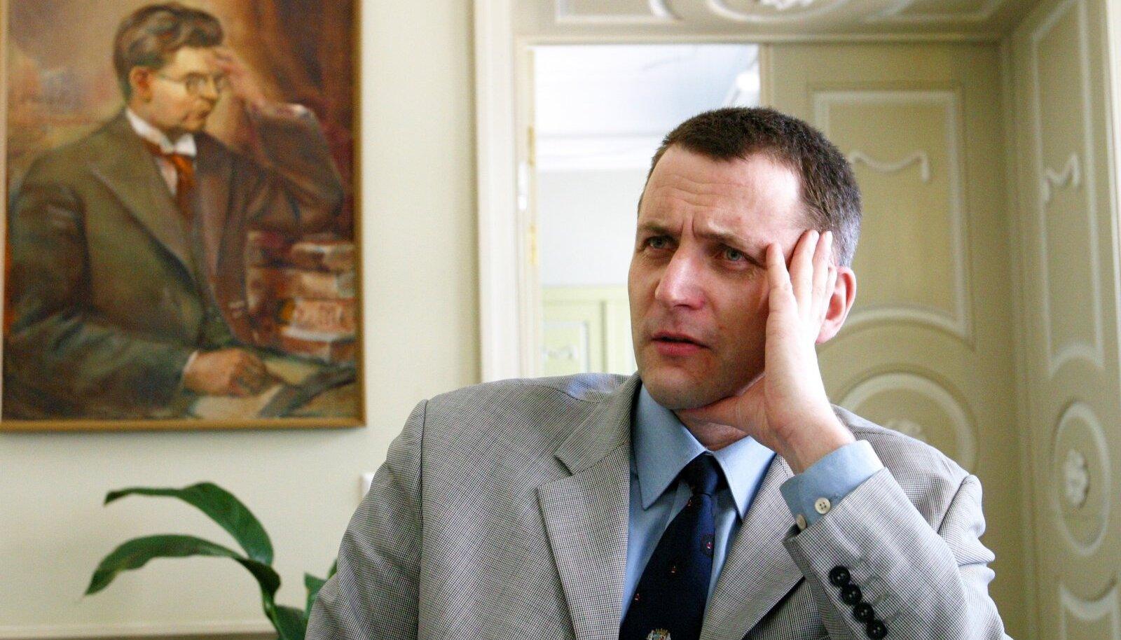 Hugo Treffneri direktor Ott Ojaveer ei mõista haridusministri arvamust.