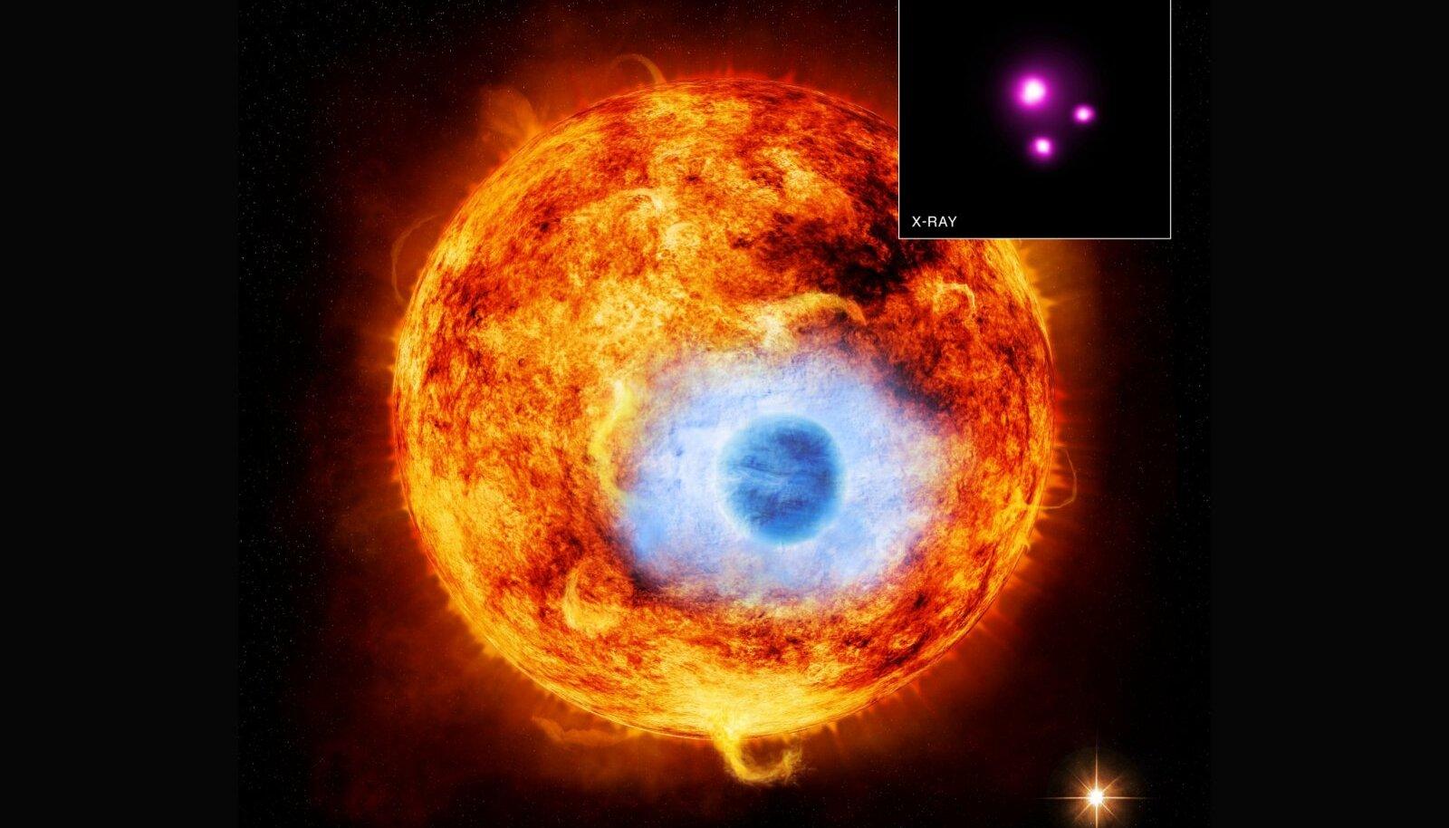 Eksoplaneet HD 189733b.