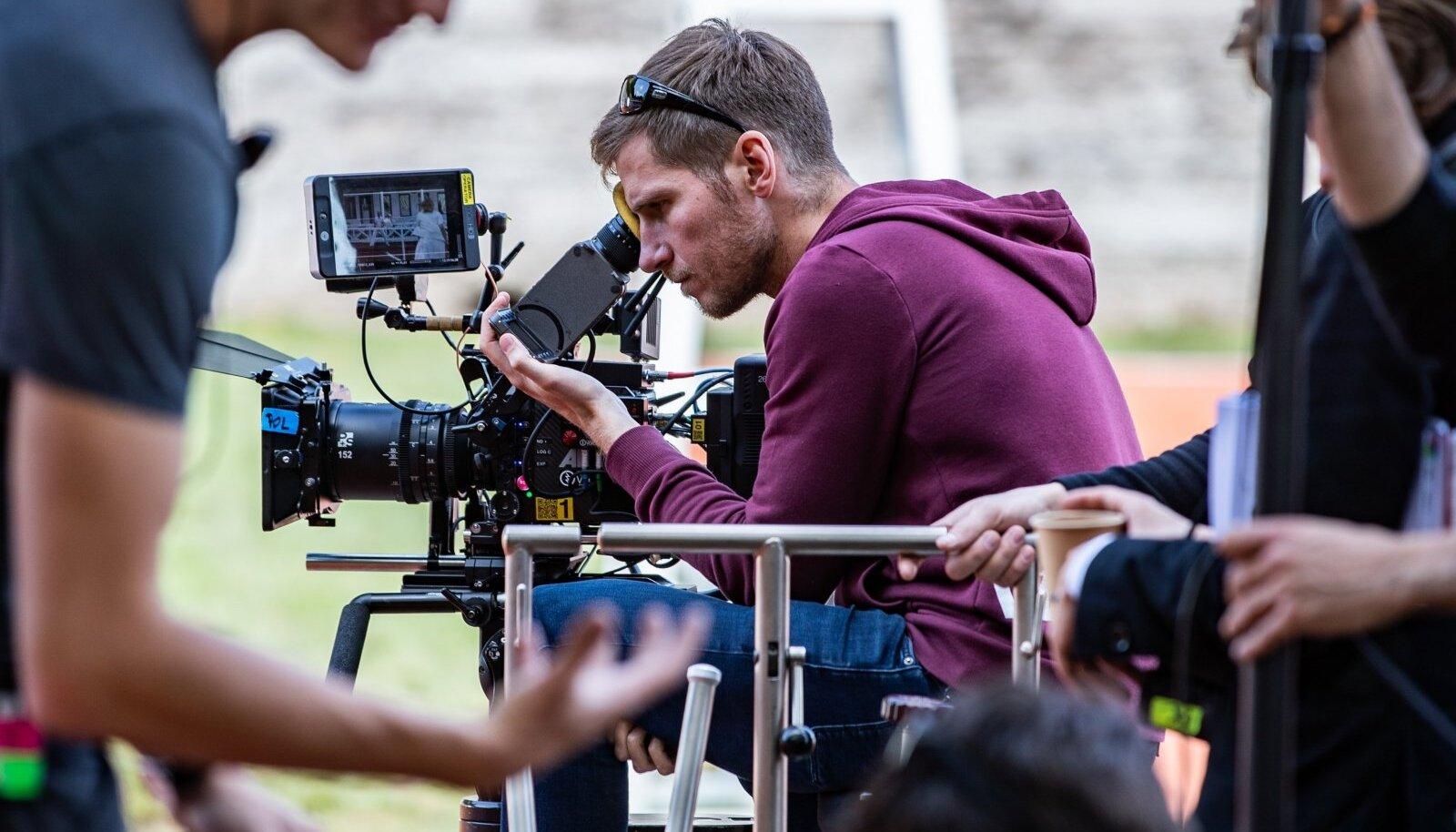 O2 filmivõtted vabaduse platsil