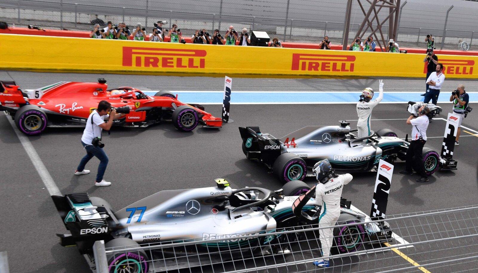 Prantsusmaa GP kvalifikatsioon