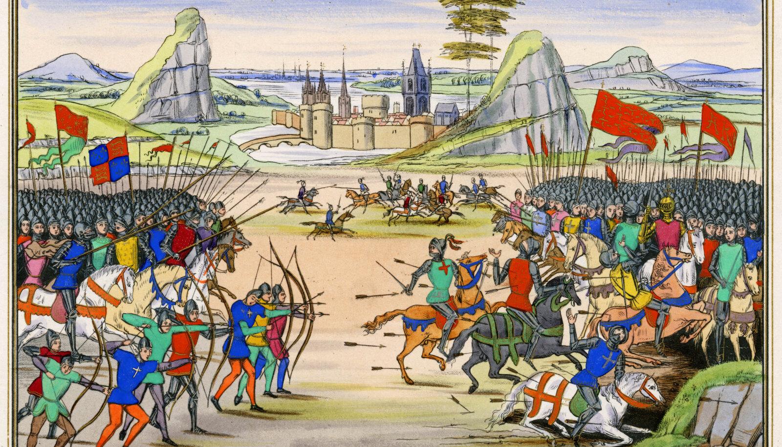 Stseen Poitiers' lahingust