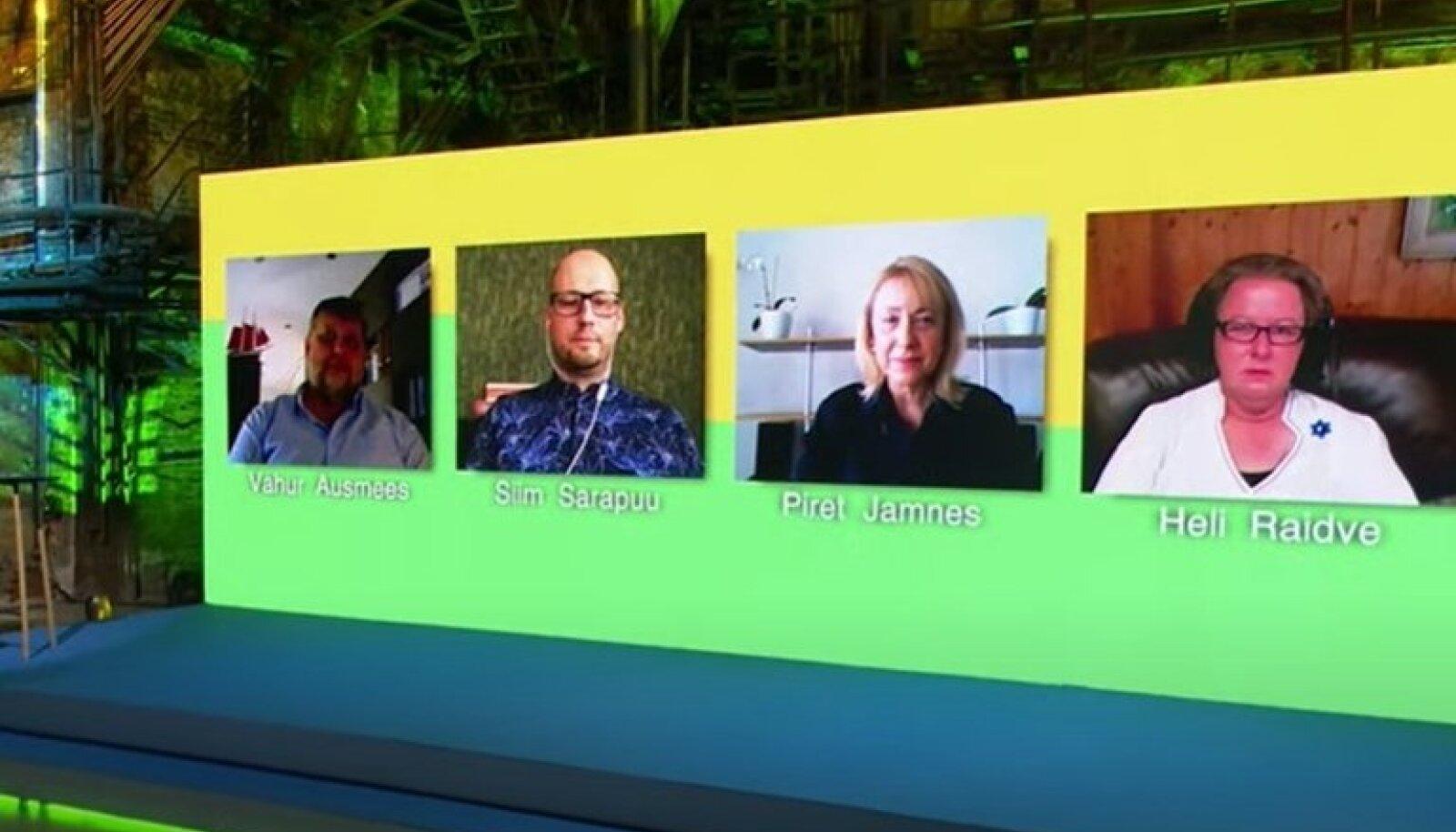 Eksperdid live-kohtumiste sarja SPUNK arutelul.