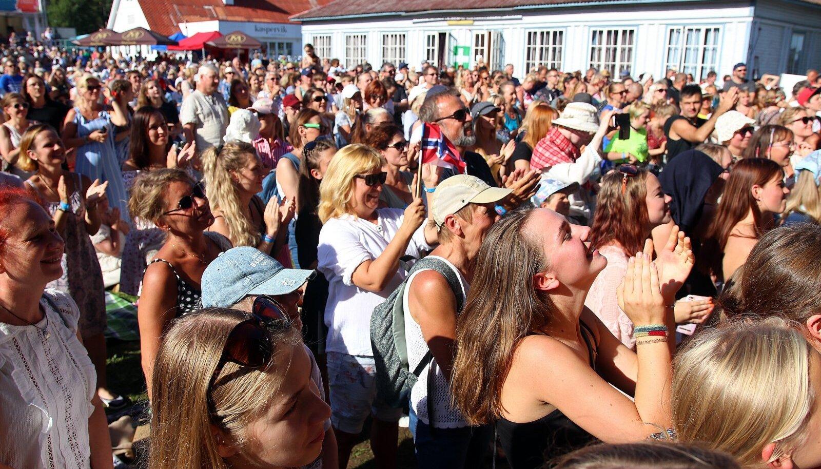 Suvi 2020: kontsert Käsmus Viru Folgil