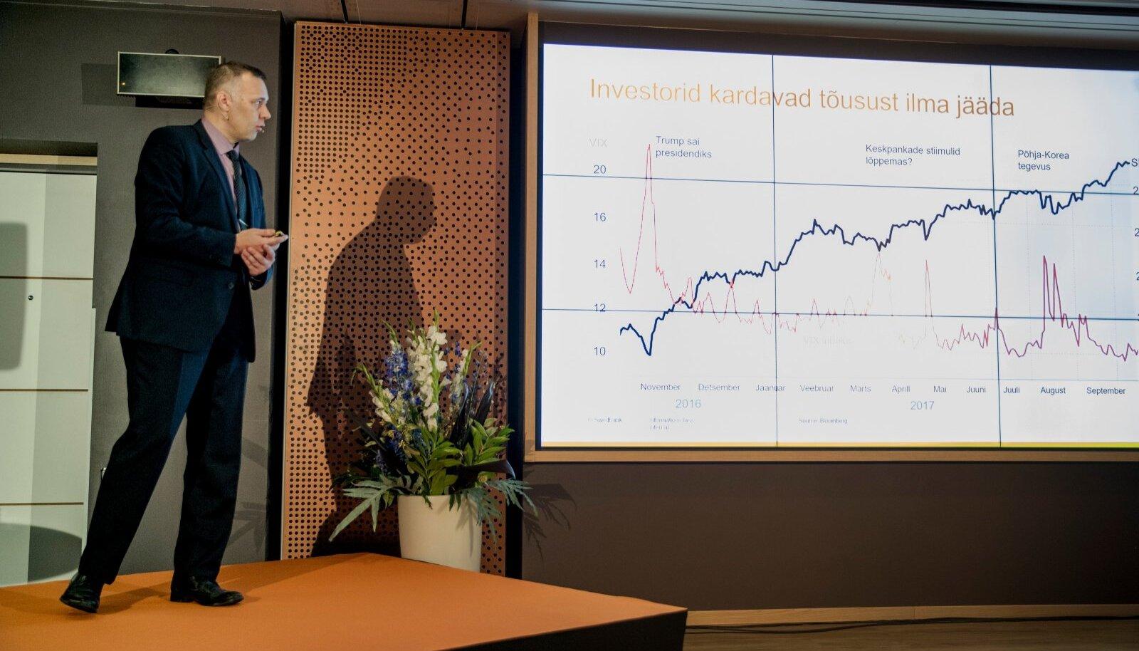Swedbanki privaatpanganduse seminar , Tarmo Tanilas