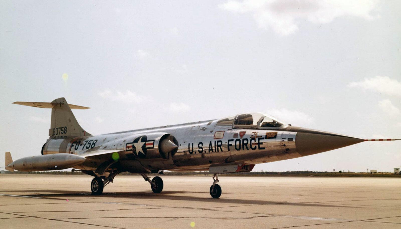 Lockheed F-104A-10-LO (SN 56-0758) (Foto: Wikipedia / USA õhujõud)