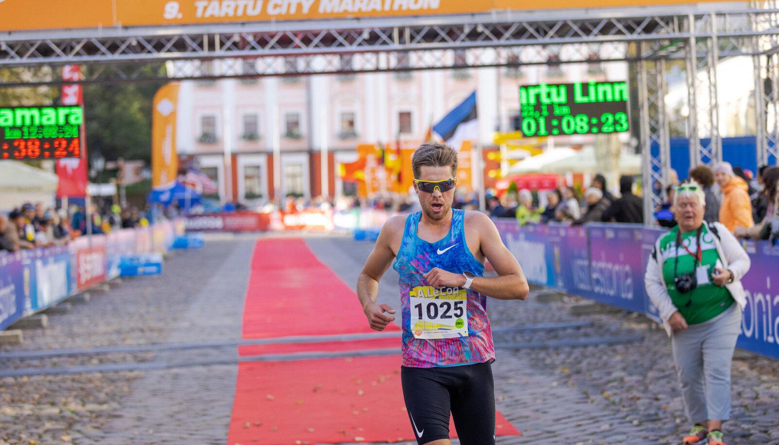 Eelmise aasta poolmaratoni Eesti meister Karel Hussar