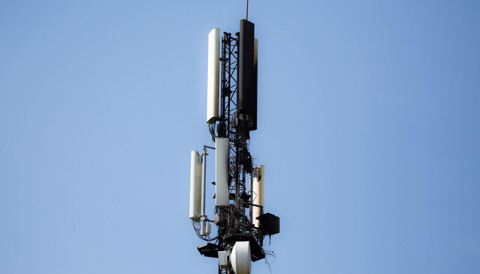 5G mast Prantsusmaal. Foto on illustratiivne